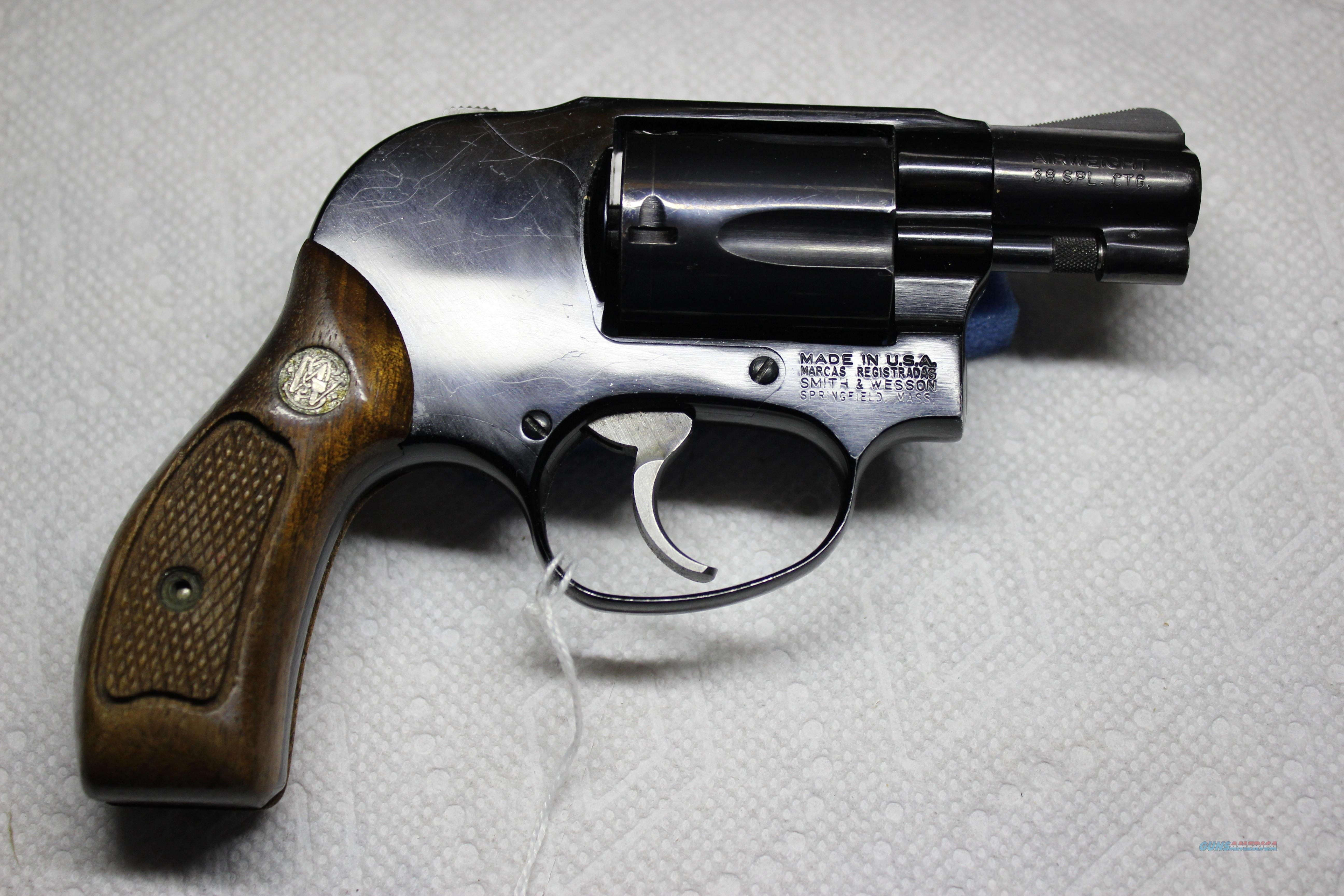 SMITH & WESSON 38  Guns > Pistols > Smith & Wesson Revolvers > Small Frame ( J )