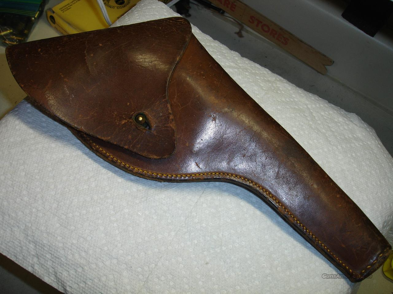 OLDER HOLSTER  Non-Guns > Holsters and Gunleather > Revolver