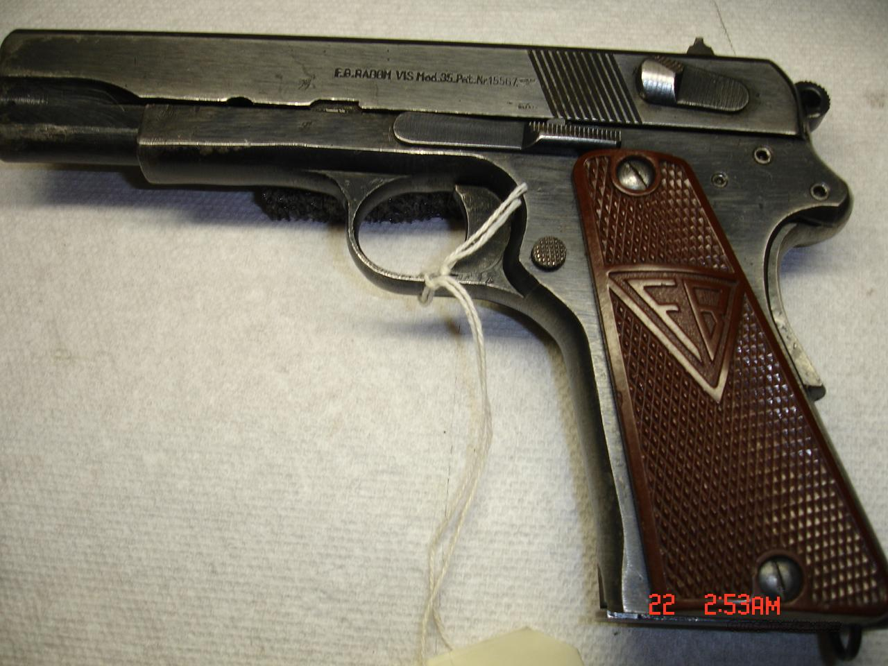 RADOM TYPE II NO SLOT  Guns > Pistols > Military Misc. Pistols Non-US