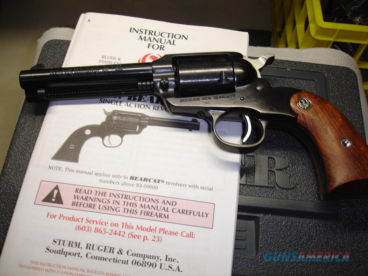 RUGER NEW MODEL BEARCAT  Guns > Pistols > Ruger Single Action Revolvers > Bearcat