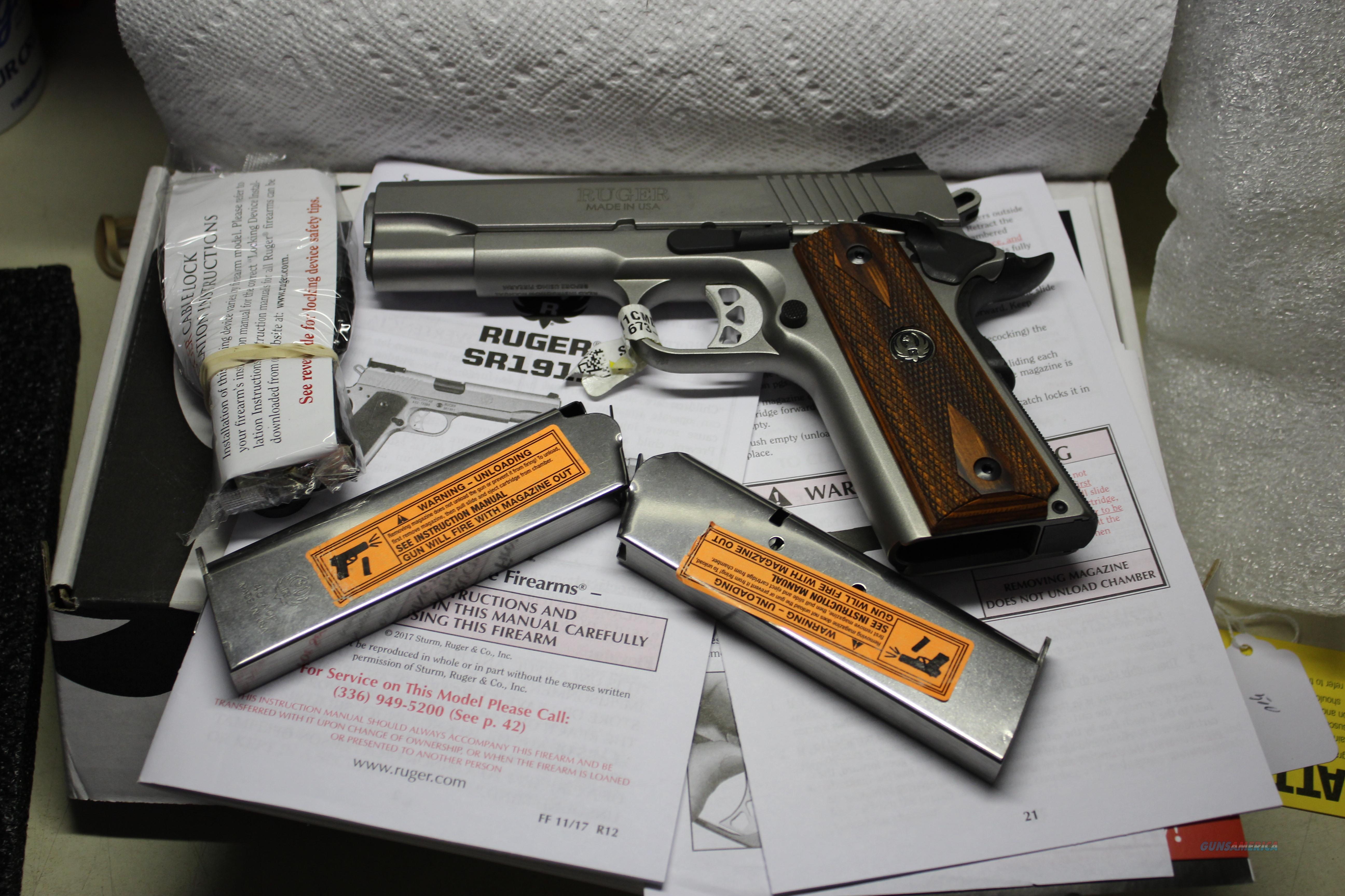 RUGER SR1911CMD  Guns > Pistols > Ruger Semi-Auto Pistols > 1911