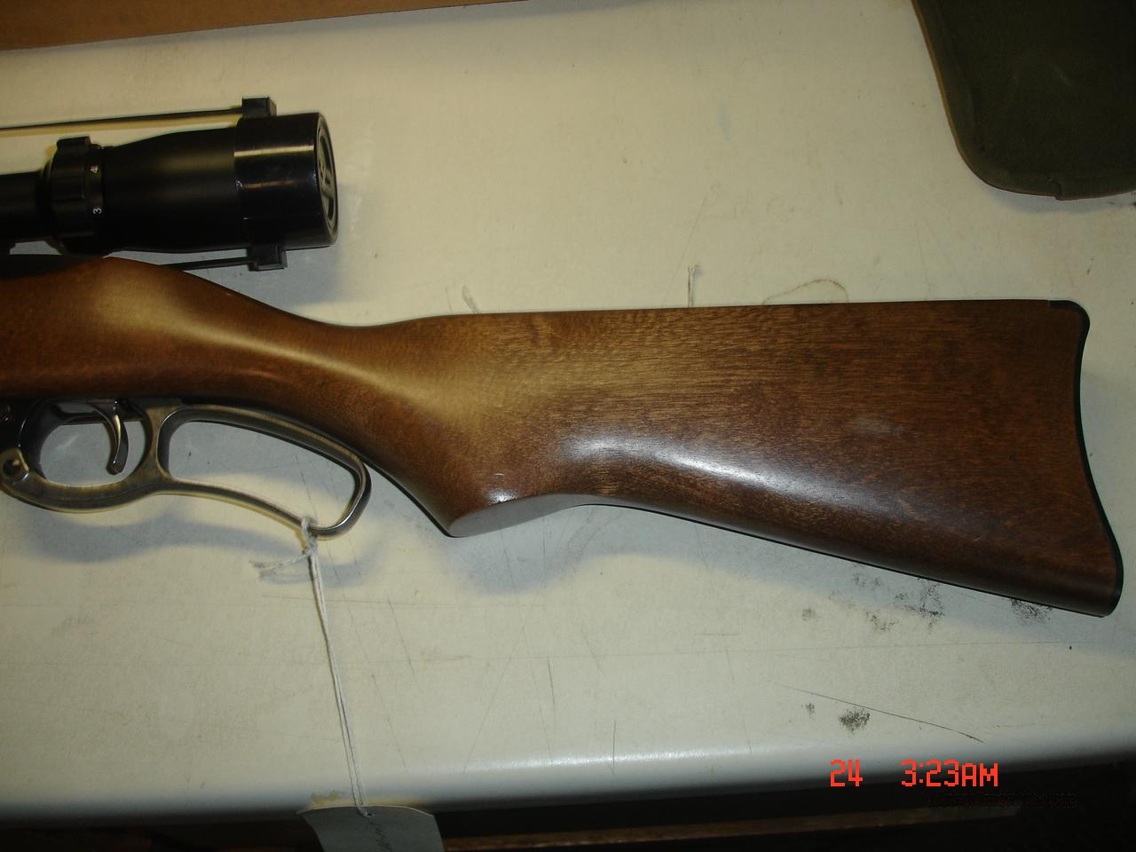 RUGER 96-44  Guns > Rifles > Ruger Rifles > Lever Action