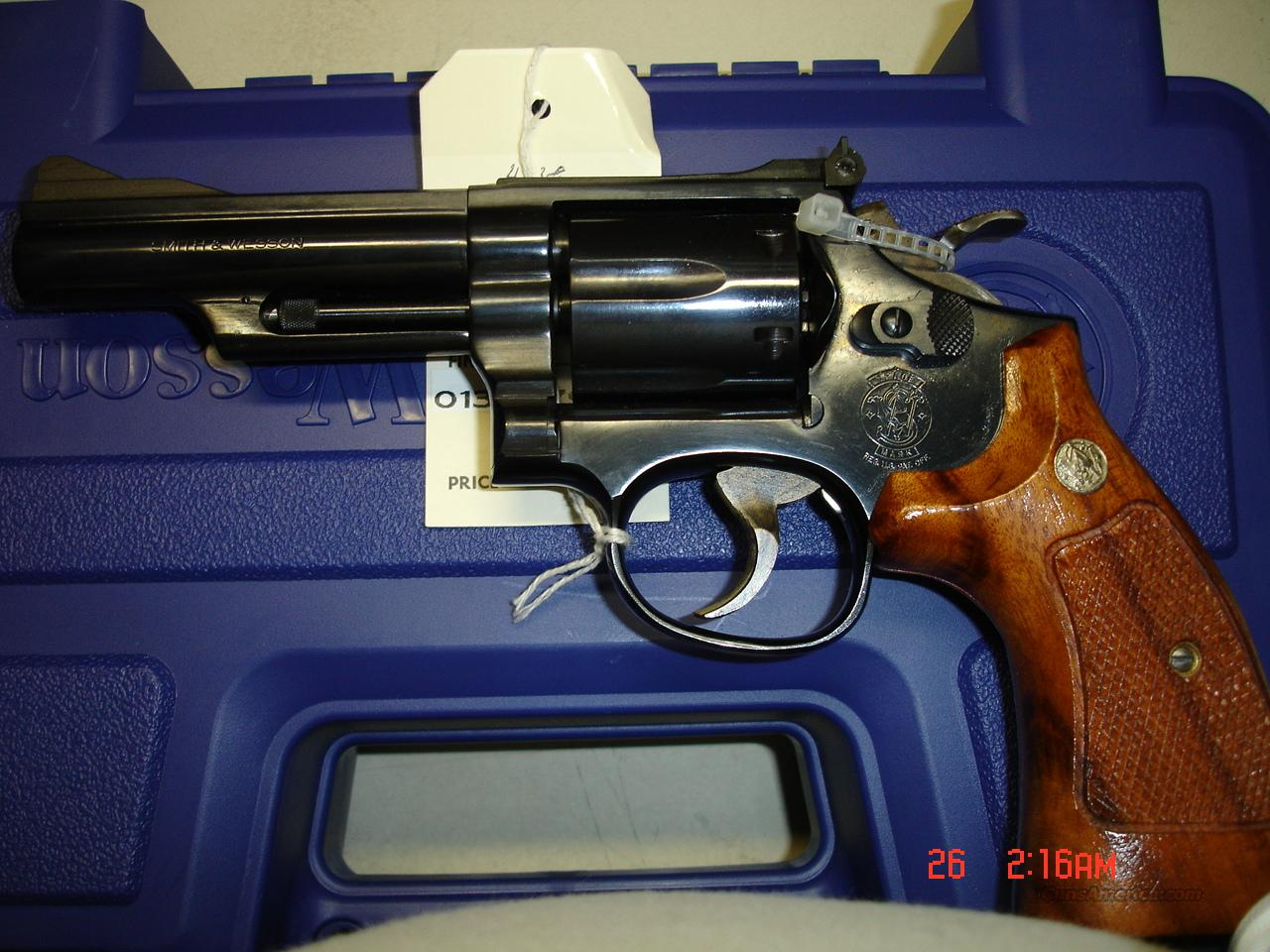 S&W MODEL 19-5  Guns > Pistols > Smith & Wesson Revolvers > Full Frame Revolver