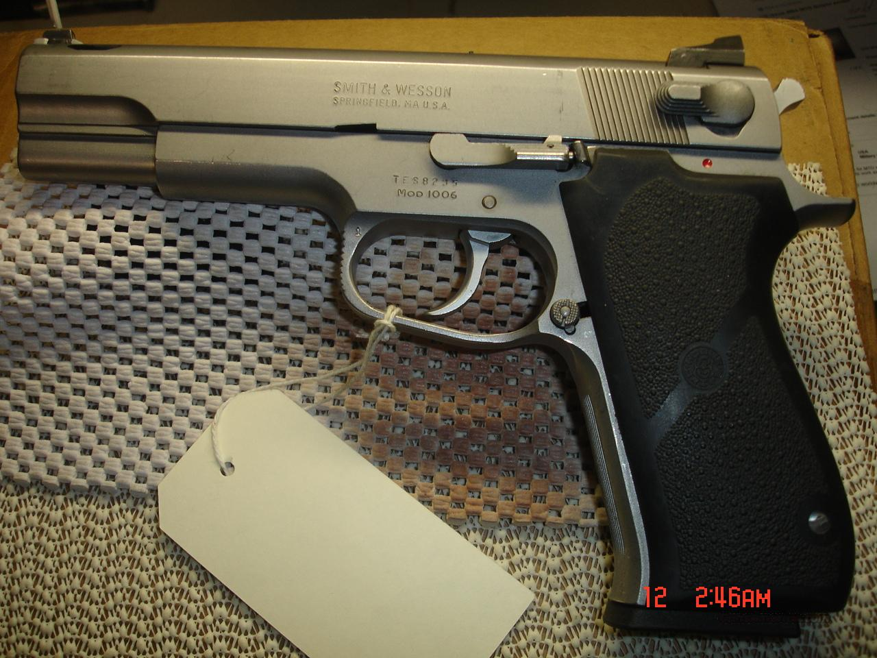 S&W MODEL 1006  Guns > Pistols > Smith & Wesson Pistols - Autos > Steel Frame