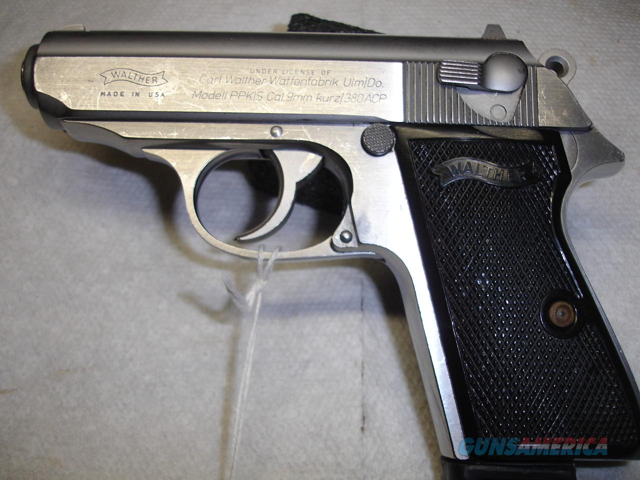 WALTHEER PPK/S  Guns > Pistols > Walther Pistols > Post WWII > PPS