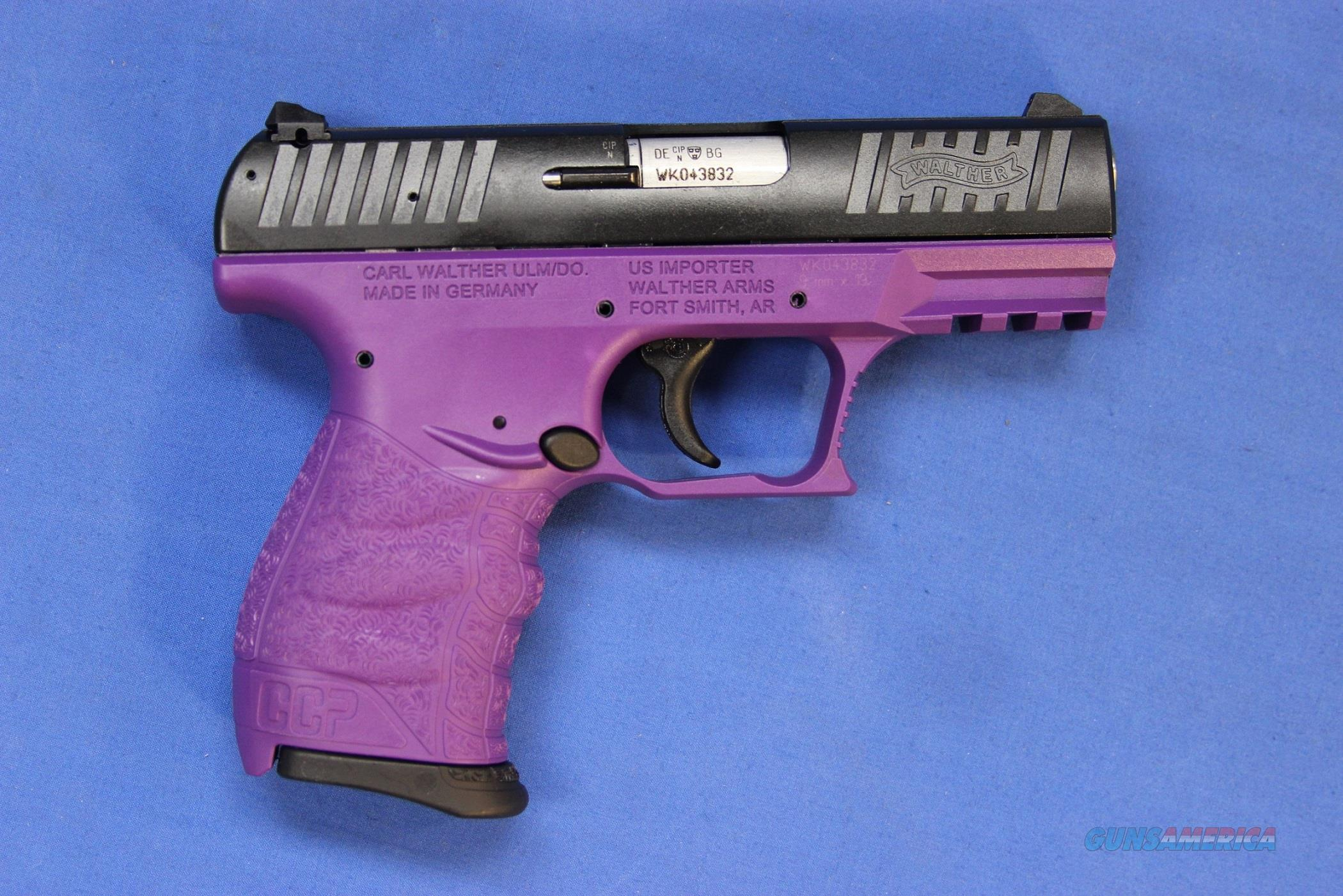 WALTHER CCP ROYAL PURPLE 9mm - NEW!  Guns > Pistols > Walther Pistols > Post WWII > P99/PPQ