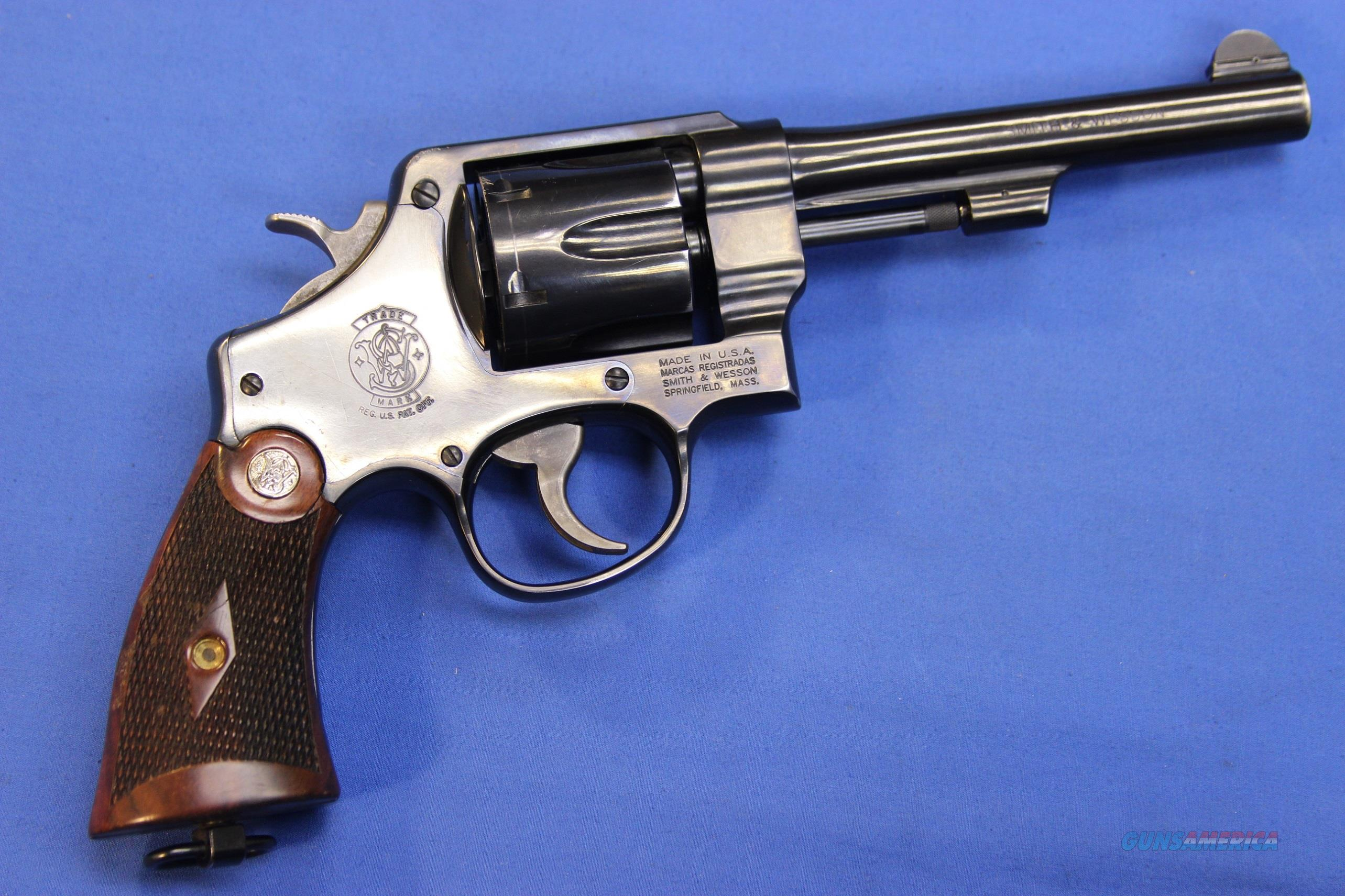 SMITH & WESSON 22-4 .45 ACP w/ BOX & HOLSTER  Guns > Pistols > Smith & Wesson Revolvers > Full Frame Revolver