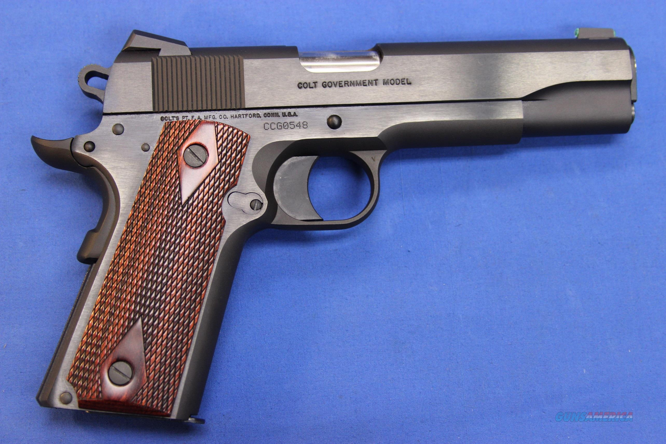COLT 1911 GOVERNMENT .45 AUTO w/ BOX for sale