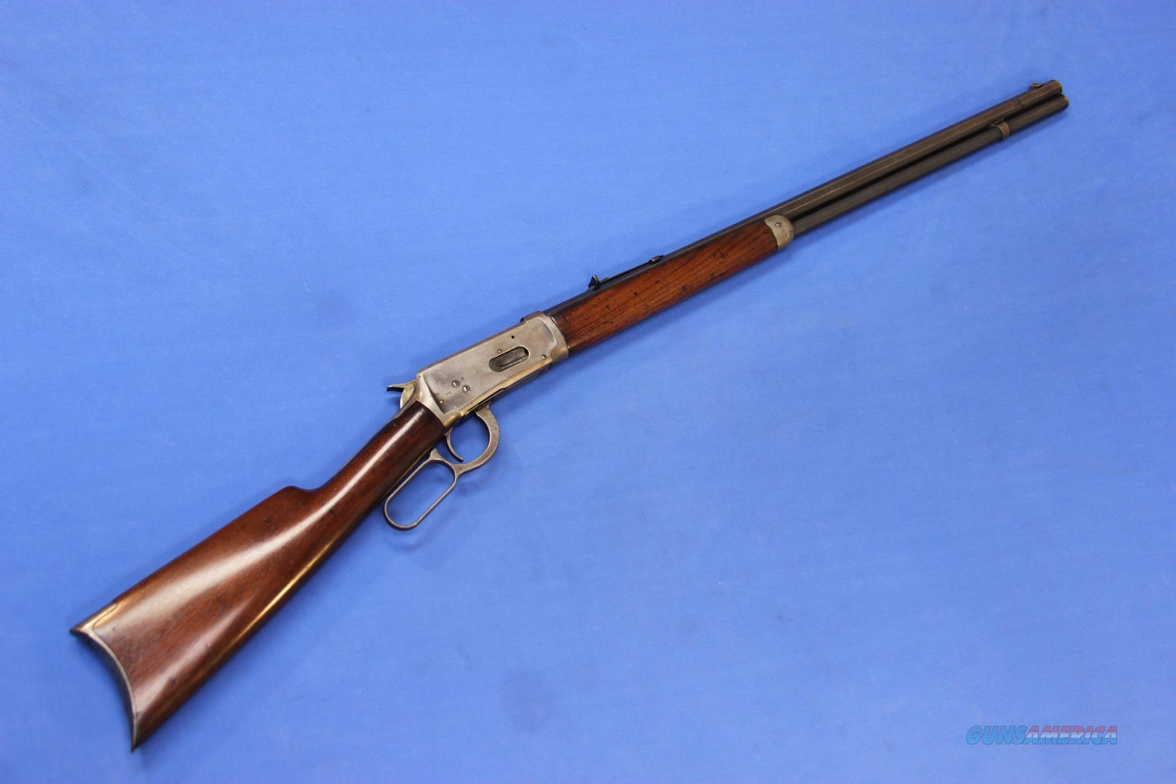 WINCHESTER 1894 RIFLE .38-55 WIN - 1902 MFG.  Guns > Rifles > Winchester Rifles - Modern Lever > Model 94 > Pre-64