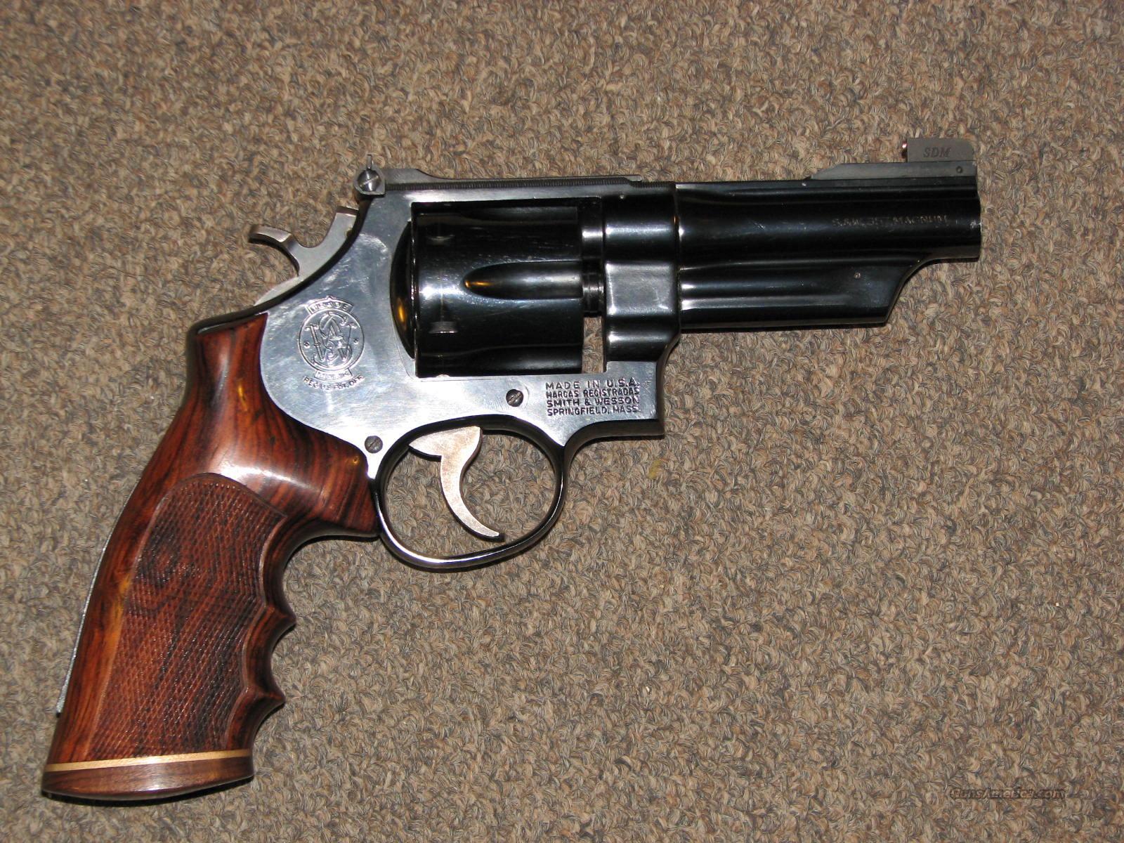 "SMITH & WESSON 27-2 .357 MAG - 4""  Guns > Pistols > Smith & Wesson Revolvers > Full Frame Revolver"