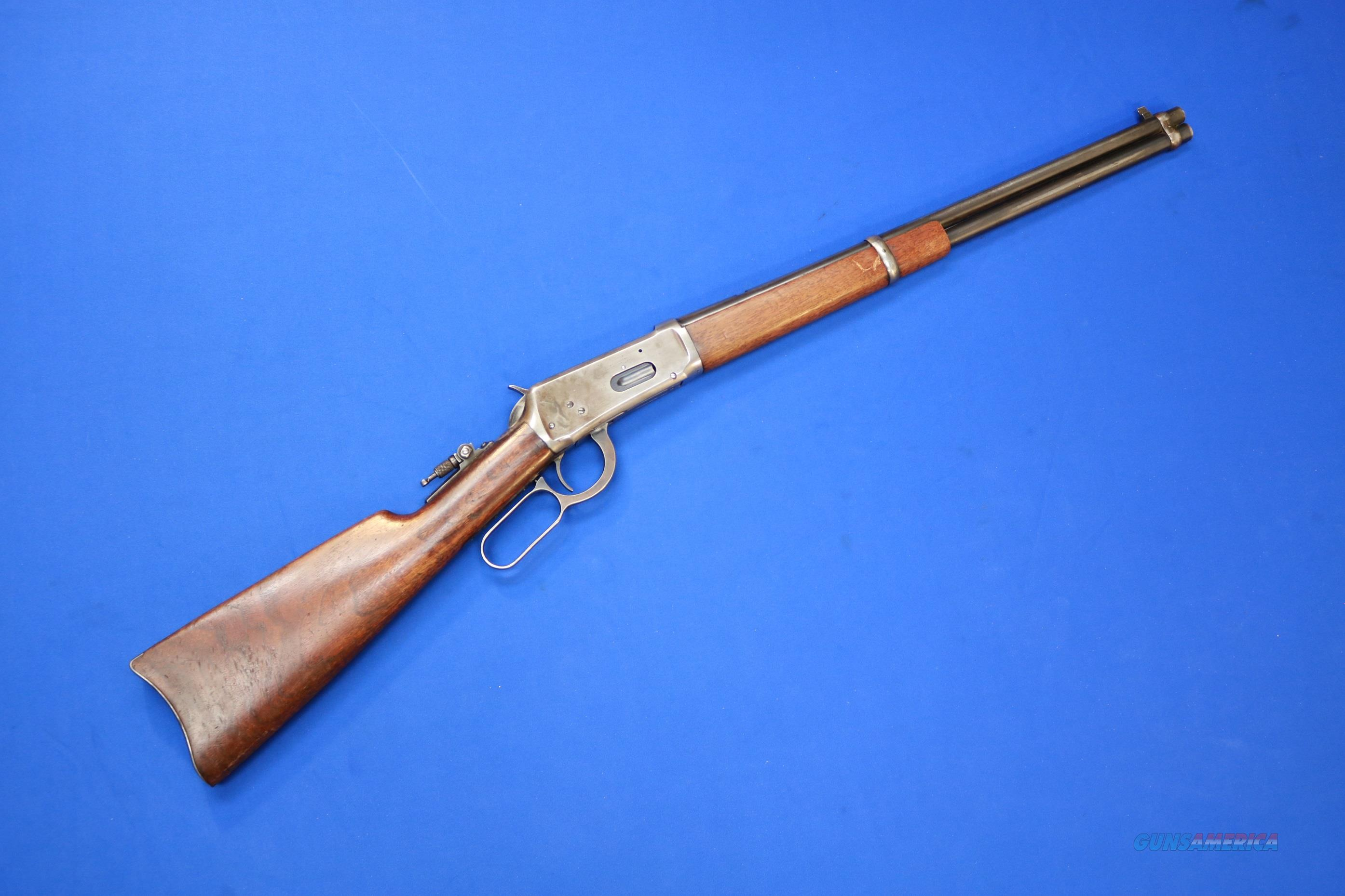 WINCHESTER 1894 SADDLE RING CARBINE .32 WIN SP. - 1923  Guns > Rifles > Winchester Rifles - Modern Lever > Model 94 > Pre-64