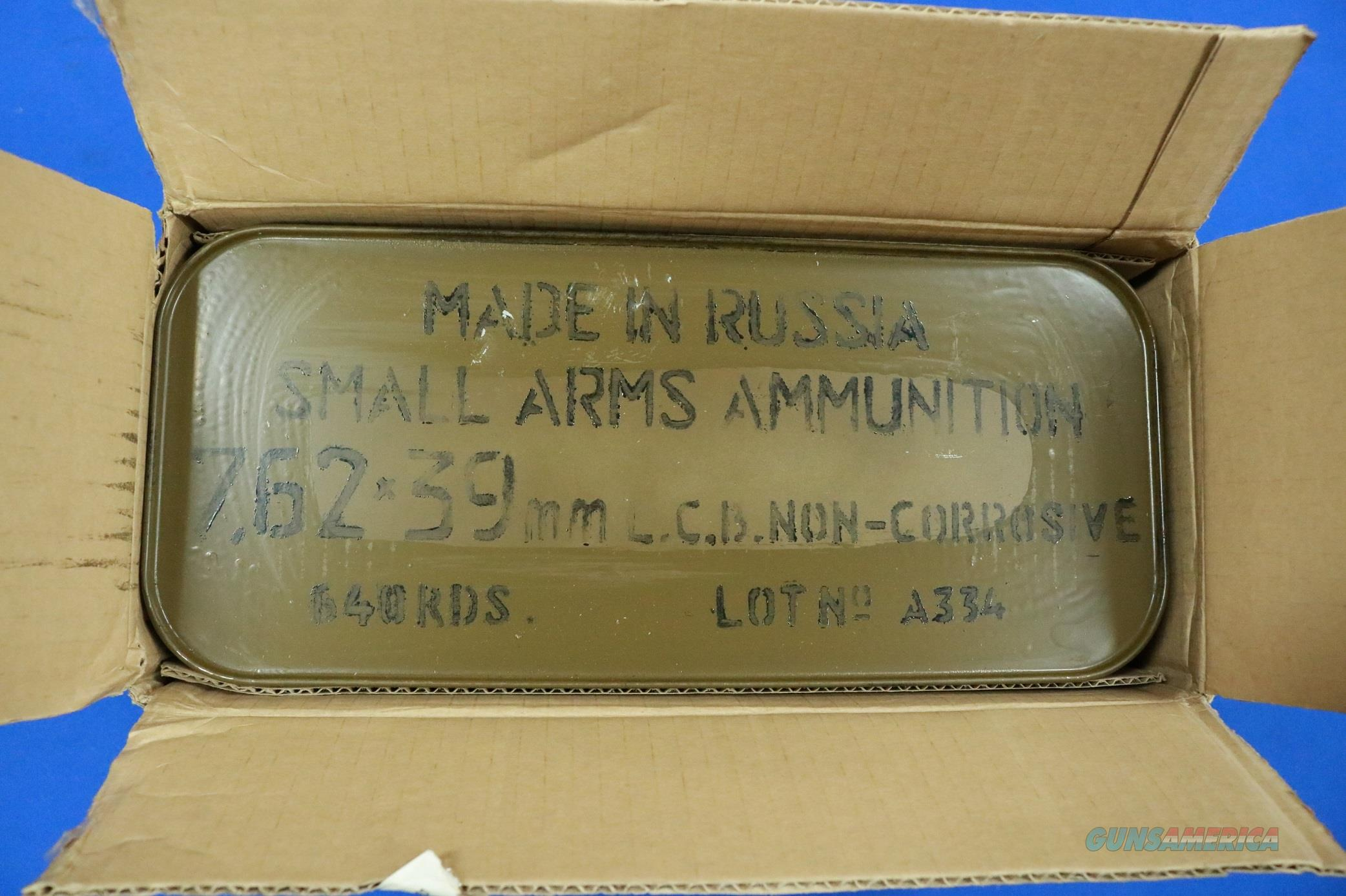 WOLF 7.62X39 HP STEEL CASE 640 RD SPAM CAN  Non-Guns > Ammunition
