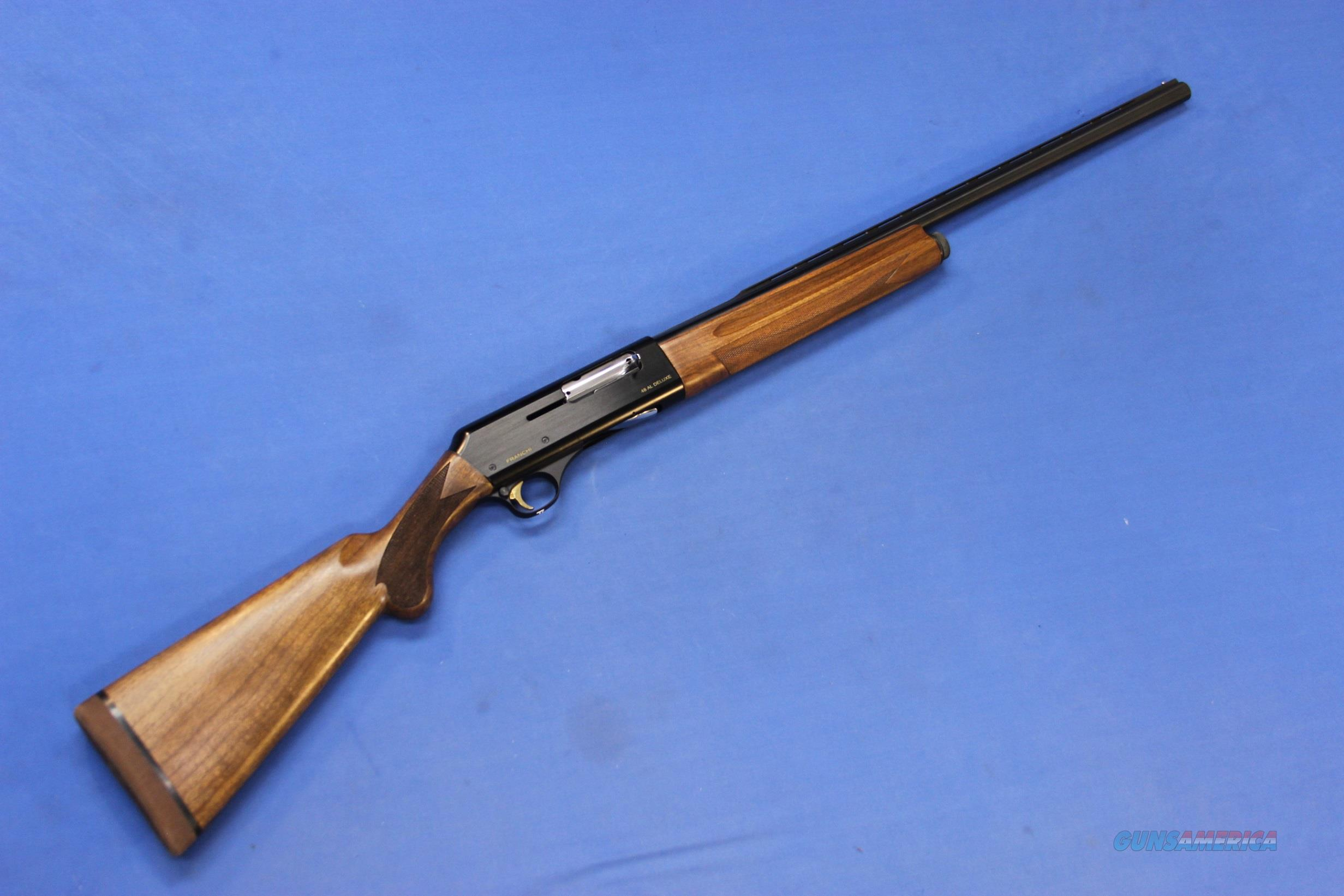 "FRANCHI 48 AL DELUXE PRINCE OF WALES 20 GAUGE 26"" - Like NIB  Guns > Shotguns > Franchi Shotguns > Auto/Pump > Hunting"