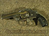 SMITH & WESSON 38 SAFETY HAMMERLESS .38 S&W  Guns > Pistols > Smith & Wesson Revolvers > Pre-1899