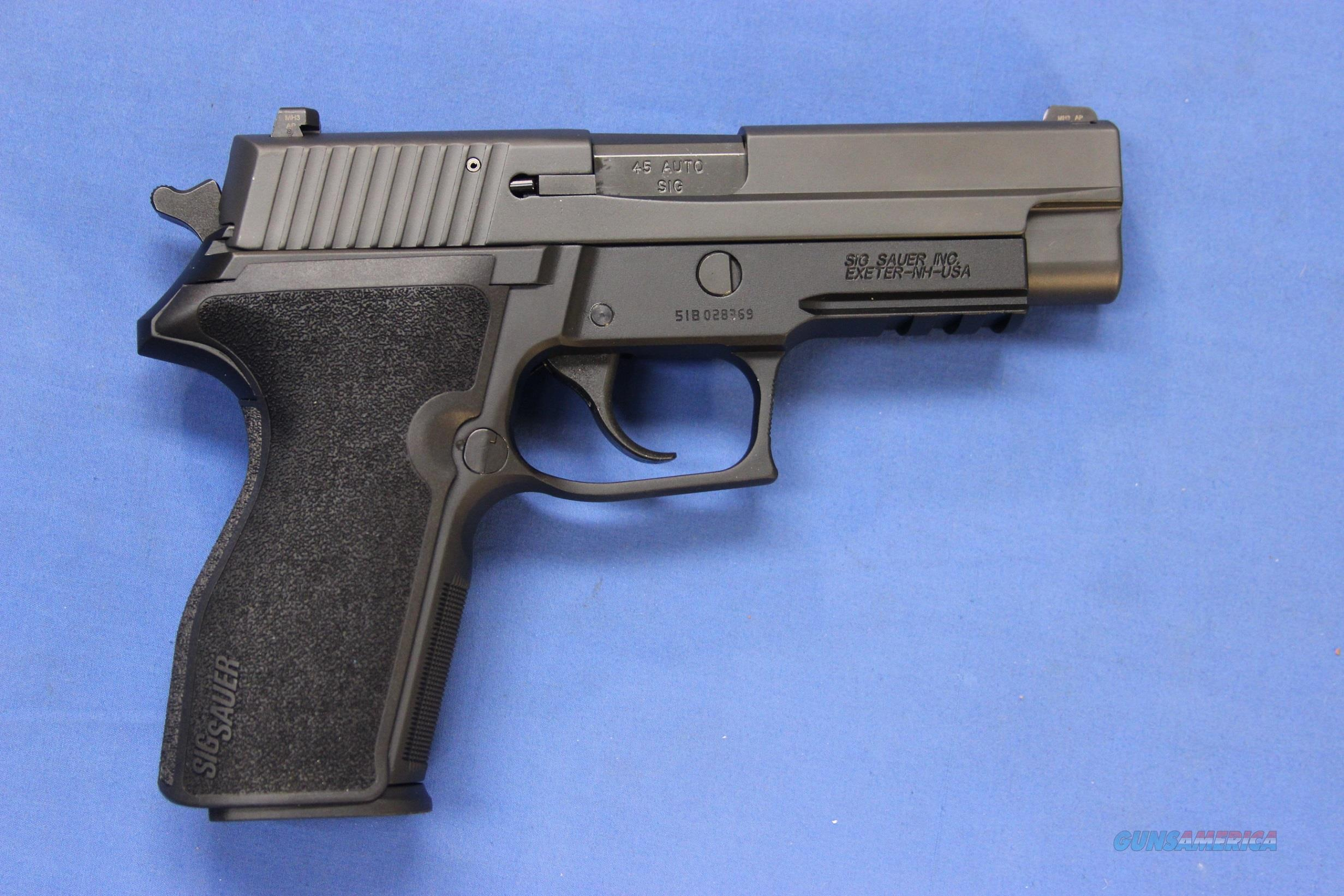 SIG SAUER P227R .45 ACP P227 - LIKE NEW IN BOX w/2 MAGS  Guns > Pistols > Sig - Sauer/Sigarms Pistols > P227