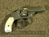 SMITH & WESSON SAFETY HAMMERLESS w/ Pearl Grips .32 S&W Short  Guns > Pistols > Smith & Wesson Revolvers > Pre-1945