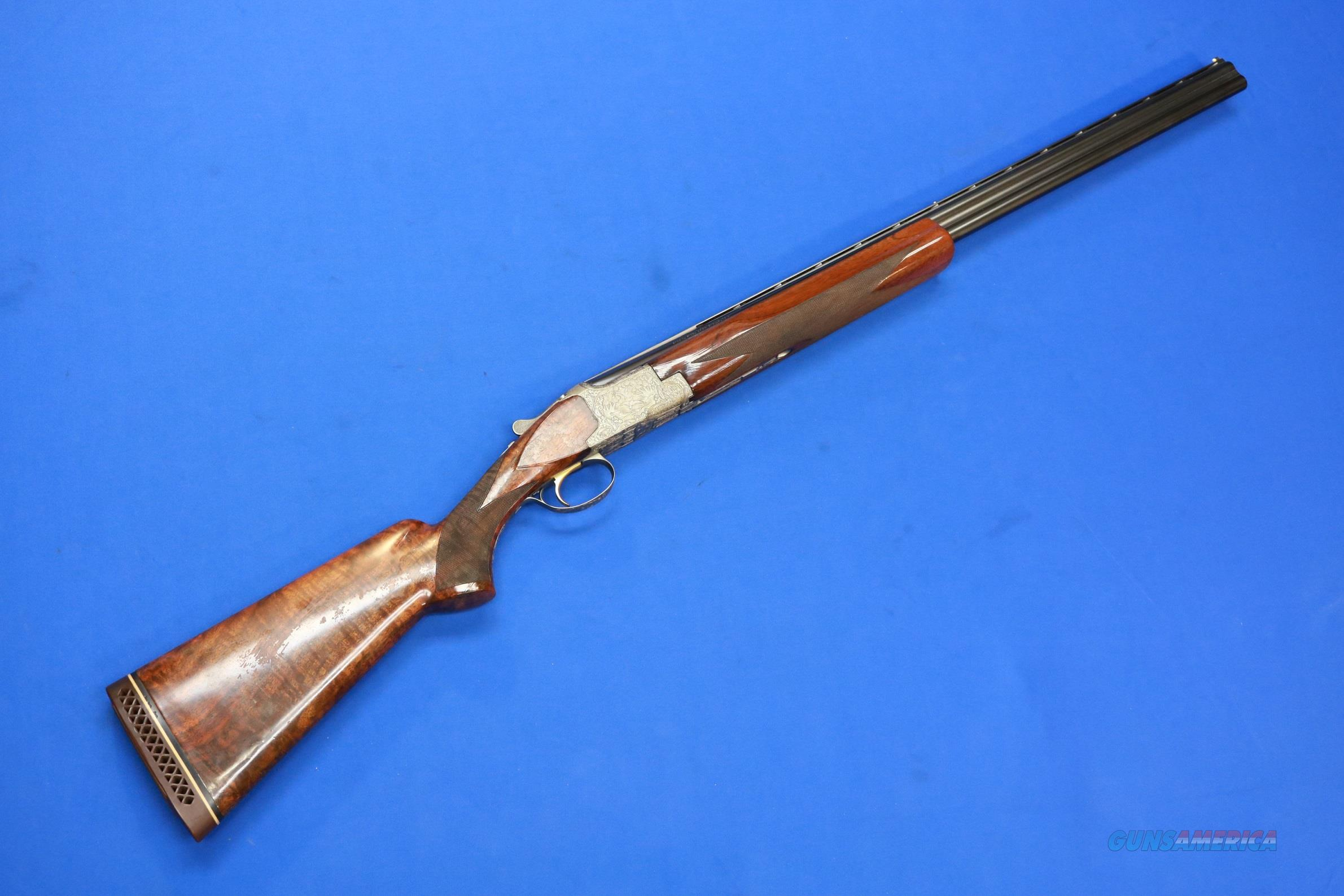 BROWNING SUPERPOSED DIANA GRADE 28 GA BEE ENGRAVED  Guns > Shotguns > Browning Shotguns > Over Unders > Belgian Manufacture