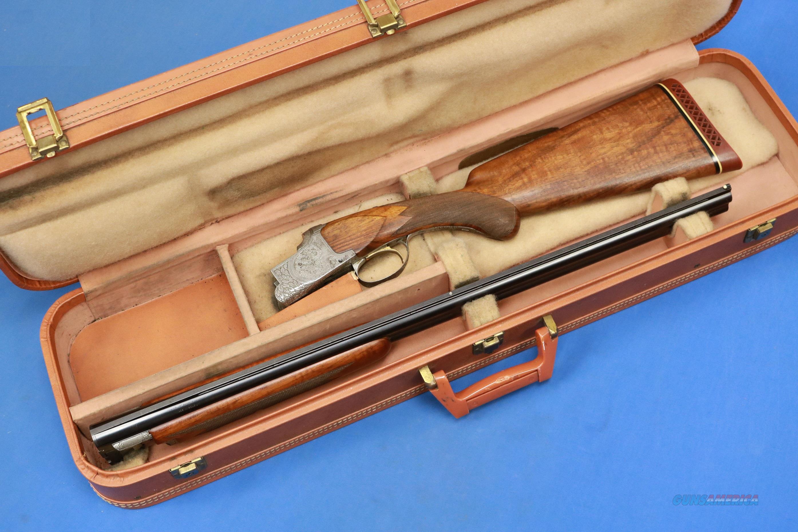 BROWNING SUPERPOSED GRADE IV 20 GA FUNKEN 1955  Guns > Shotguns > Browning Shotguns > Over Unders > Belgian Manufacture