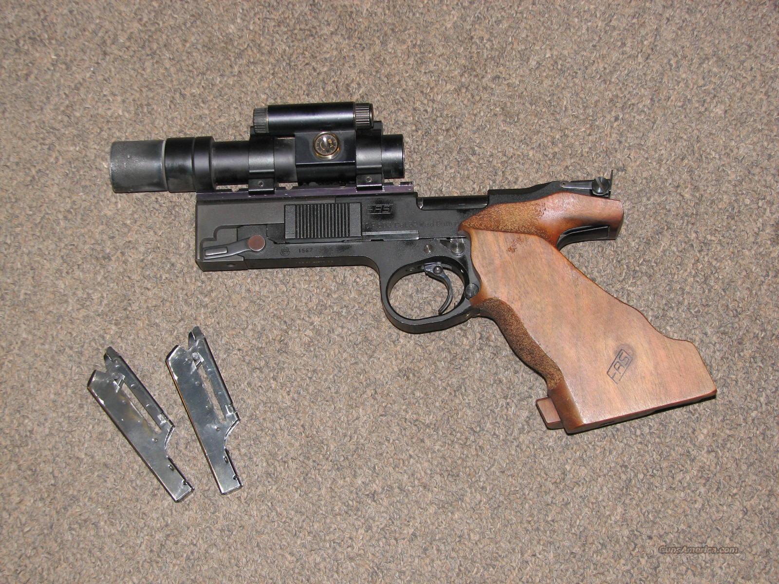 FAS MODEL 603 OLYMPIC TARGET PISTOL .32 WADCUTTER  Guns > Pistols > F Misc Pistols