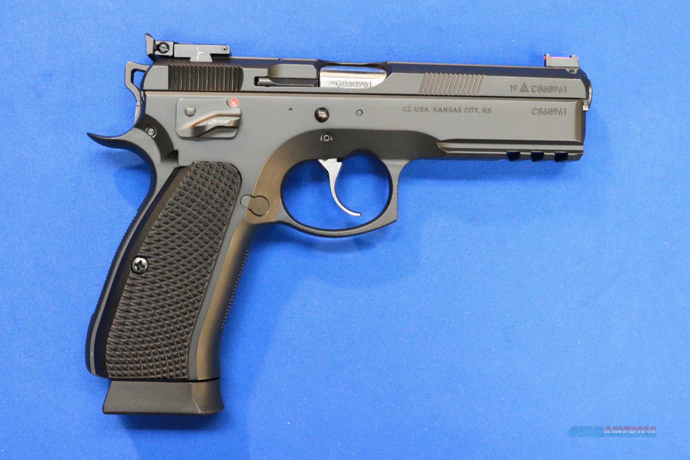 CZ-USA CZ 75 SP-01 SHADOW 9mm - NEW w/3 18-RD MAGS  Guns > Pistols > CZ Pistols