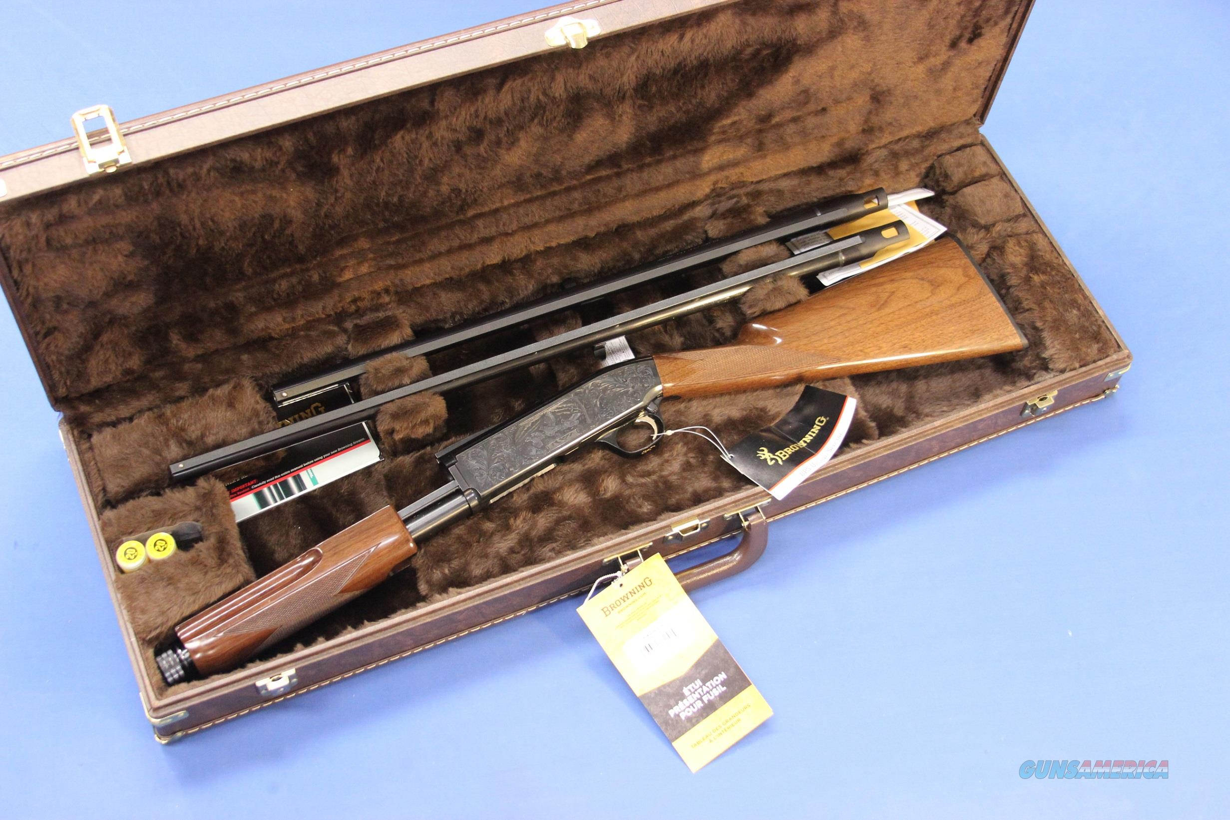 BROWNING BPS UPLAND SPECIAL 20 GA 2-BARREL SET w/HARD CASE  Guns > Shotguns > Browning Shotguns > Pump Action > Hunting