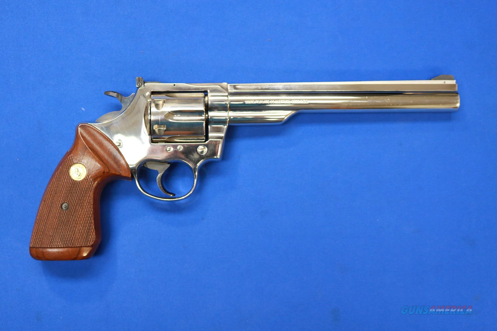 "COLT TROOPER Mk III NICKEL .357 MAG 8"" - 1981 Mfg.  Guns > Pistols > Colt Double Action Revolvers- Modern"