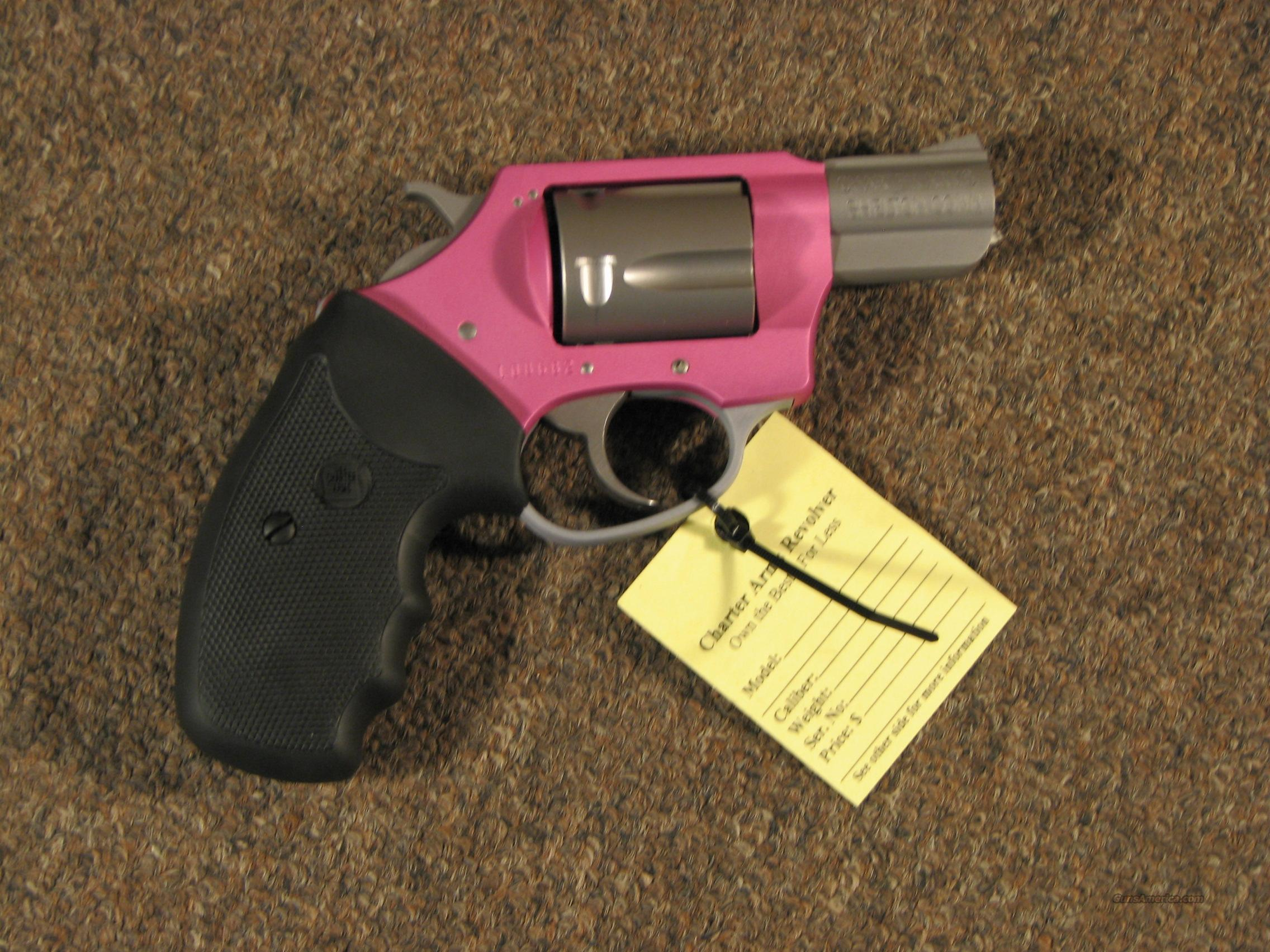 CHARTER ARMS PINK LADY .38 SPECIAL - NEW!  Guns > Pistols > Charter Arms Revolvers