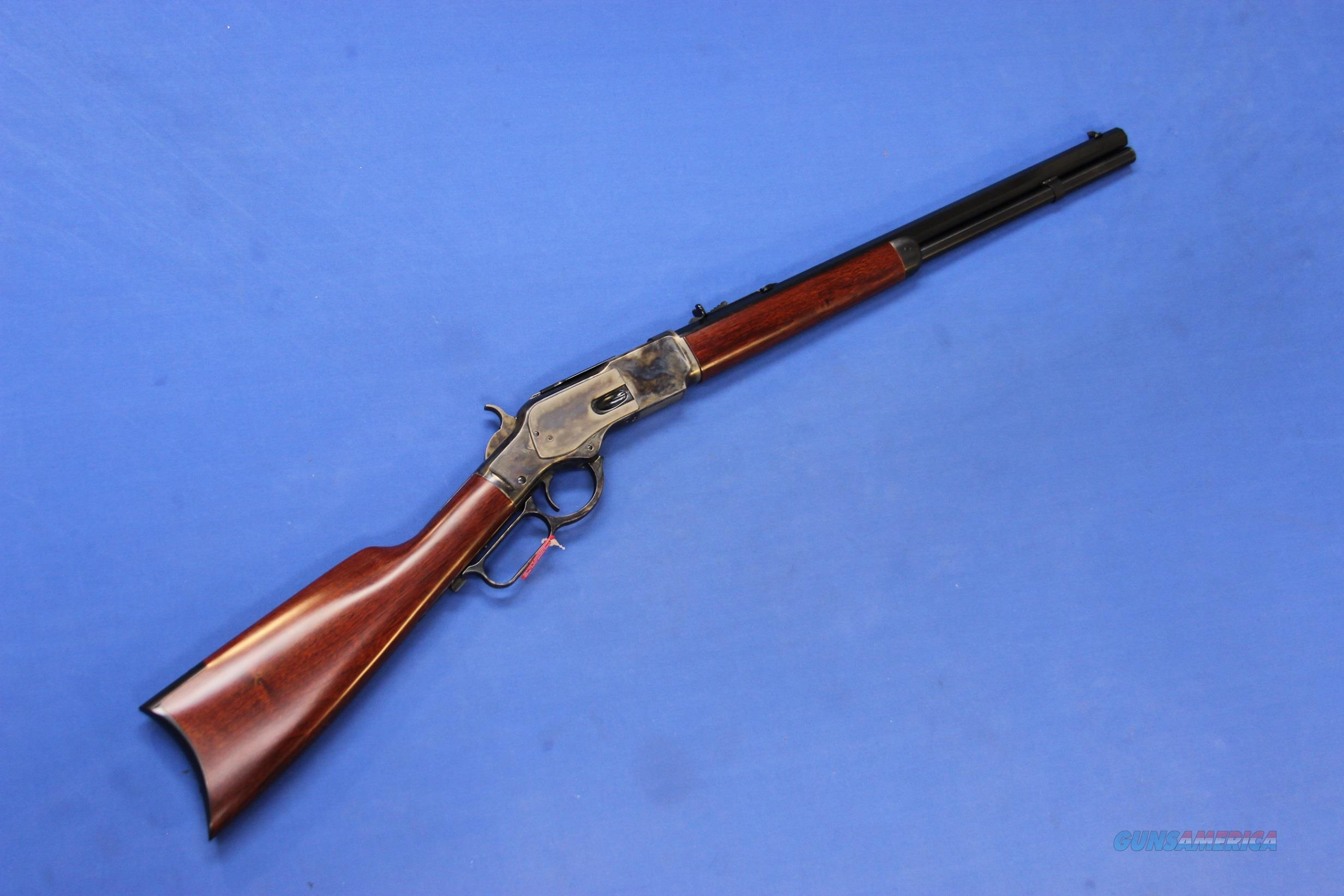 UBERTI 1873 SHORT RIFLE .357 MAG CASE COLORED NEW!  Guns > Rifles > Uberti Rifles > Lever Action