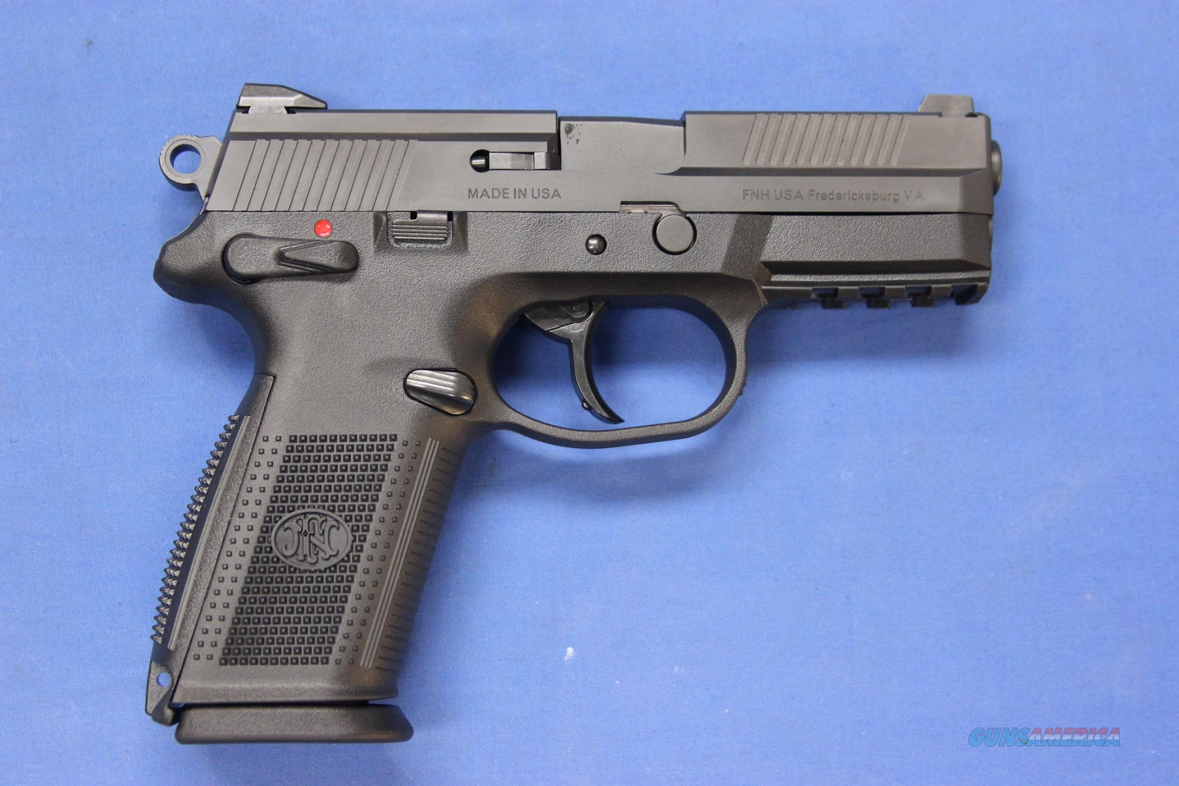 FNH USA FNX-9 PISTOL 9mm - NEW w/BOX & 3 MAGS      Guns > Pistols > FNH - Fabrique Nationale (FN) Pistols > FNX