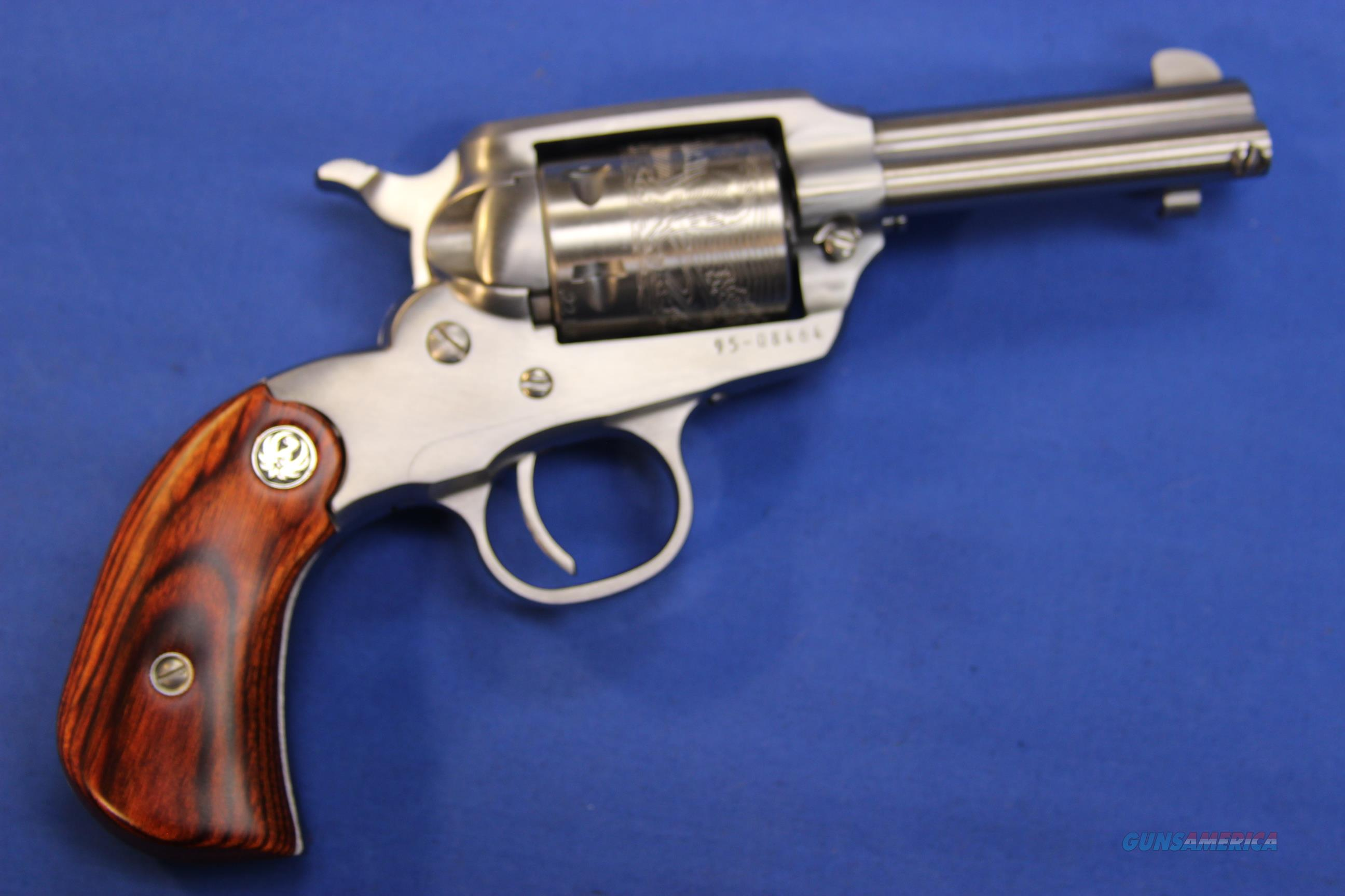 RUGER NEW BEARCAT SHOPKEEPER .22 LR w/ BOX  Guns > Pistols > Ruger Single Action Revolvers > Bearcat