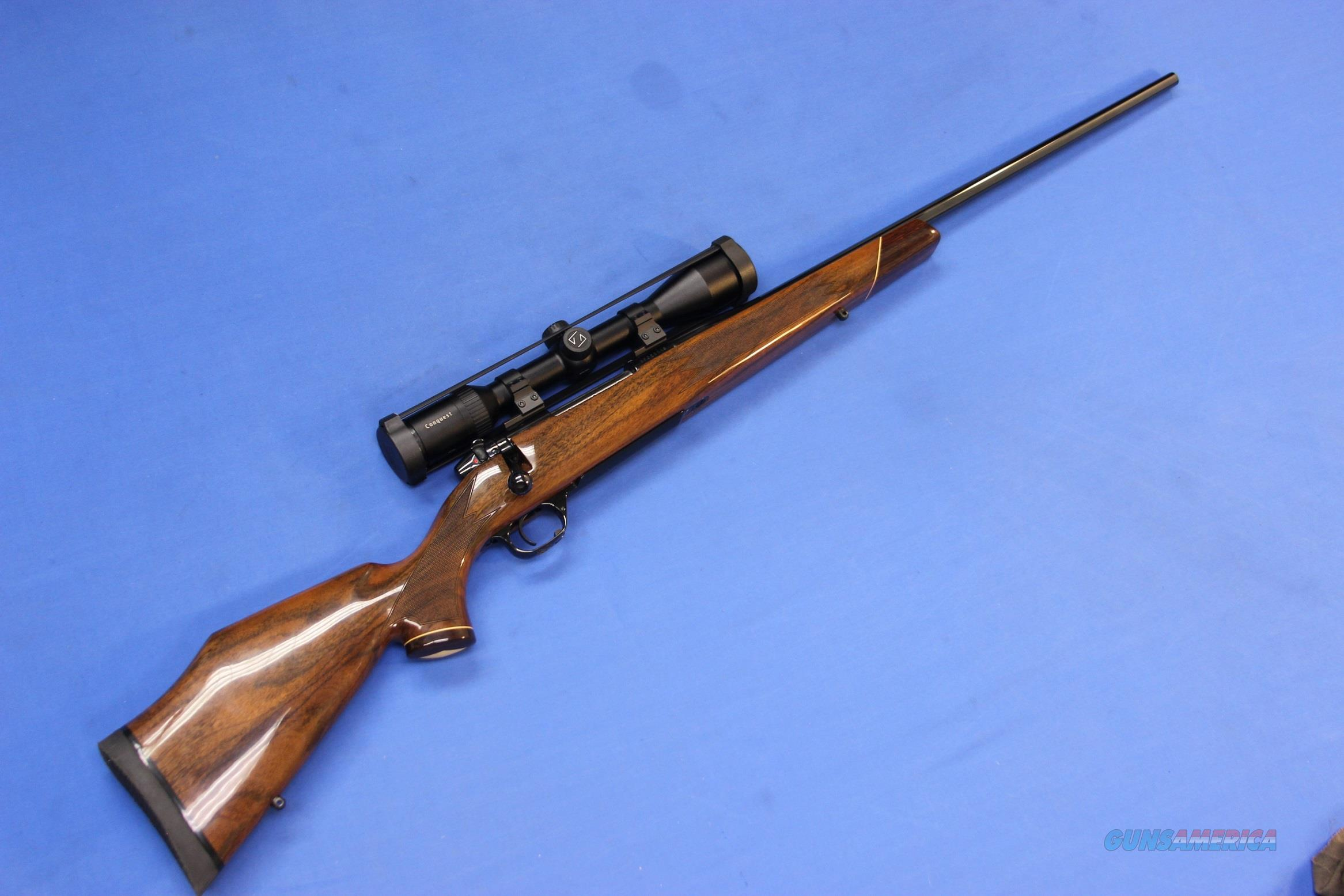 WEATHERBY MARK V DELUXE 7mm-08 REM w/ ZEISS SCOPE  Guns > Rifles > Weatherby Rifles > Sporting
