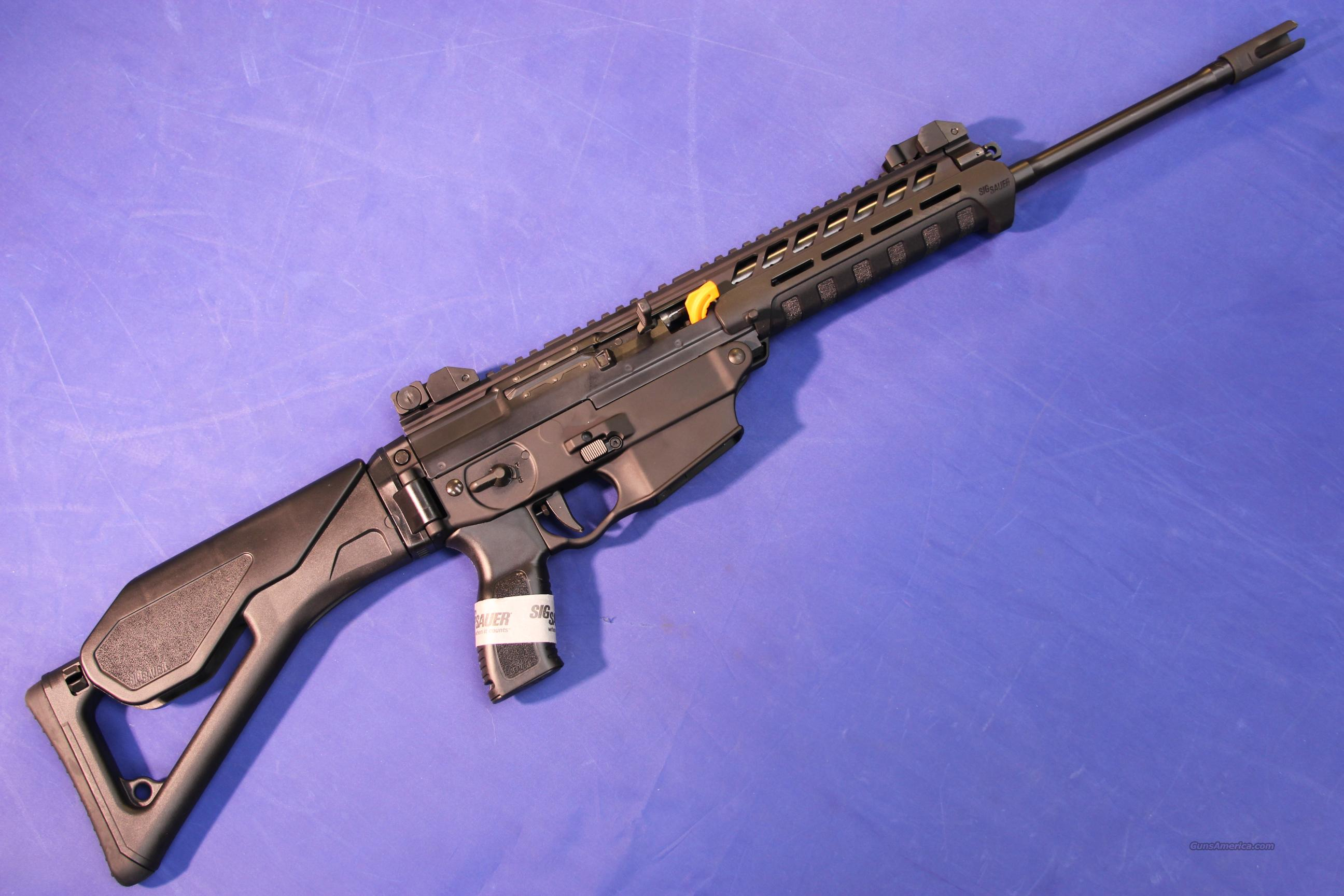 SIG SAUER 5.56 NATO PATROL RIFLE – NEW!   Guns > Rifles > Sig - Sauer/Sigarms Rifles