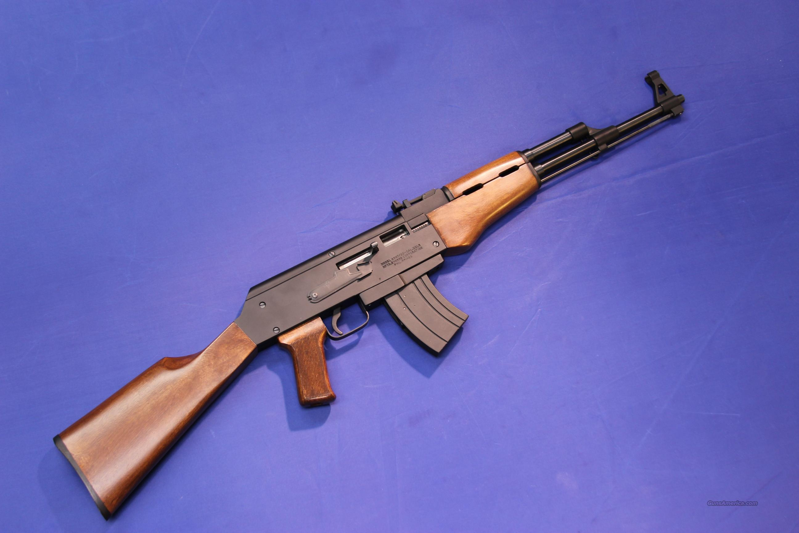 ARMSCOR AK-47 .22 LR  Guns > Rifles > Armscor Rifles > .22 Cal versions