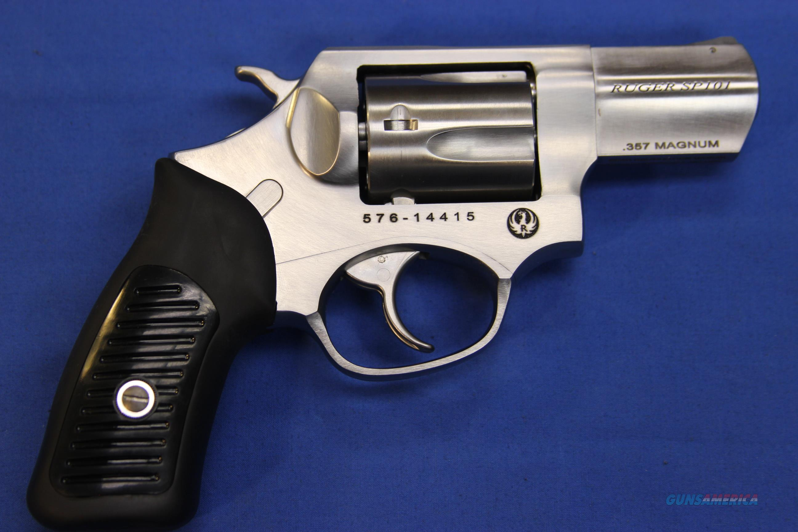 "RUGER SP101 STAINLESS .357 mag 2-1/4"" - NEW!   Guns > Pistols > Ruger Double Action Revolver > SP101 Type"