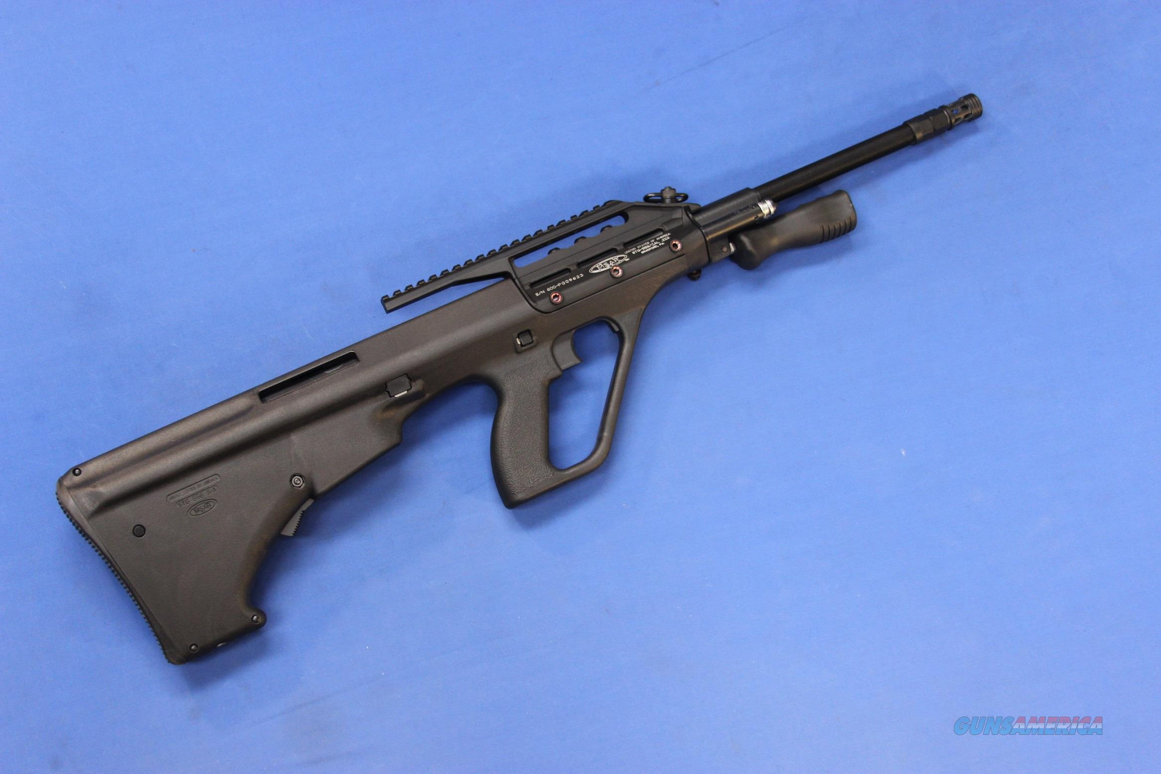 MSAR STG-556 (STEYR AUG COPY) .223 REM w/6 MAGS  Guns > Rifles > Military Misc. Rifles Non-US > Other