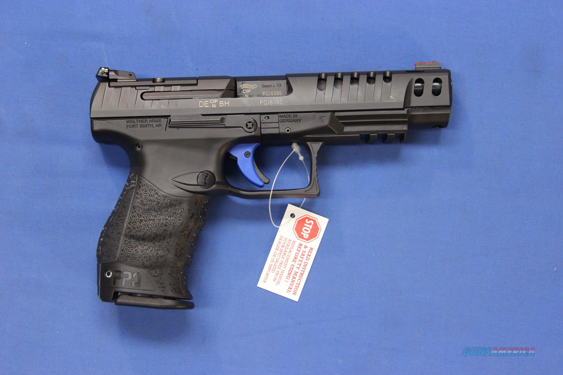 WALTHER Q5 MATCH 9mm COMPETITION PISTOL - NEW!  Guns > Pistols > Walther Pistols > Post WWII > P99/PPQ