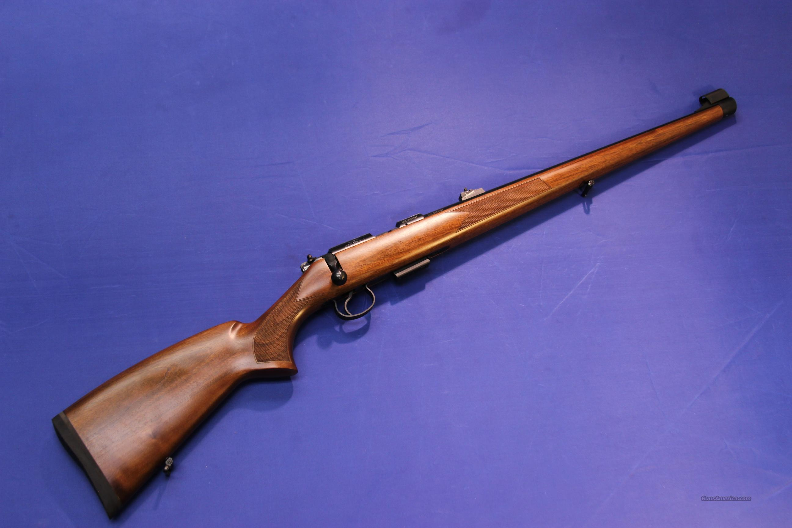 CZ 455 FS .22 MAGNUM - FULL MANNLICHER STOCK - NEW!  Guns > Rifles > CZ Rifles