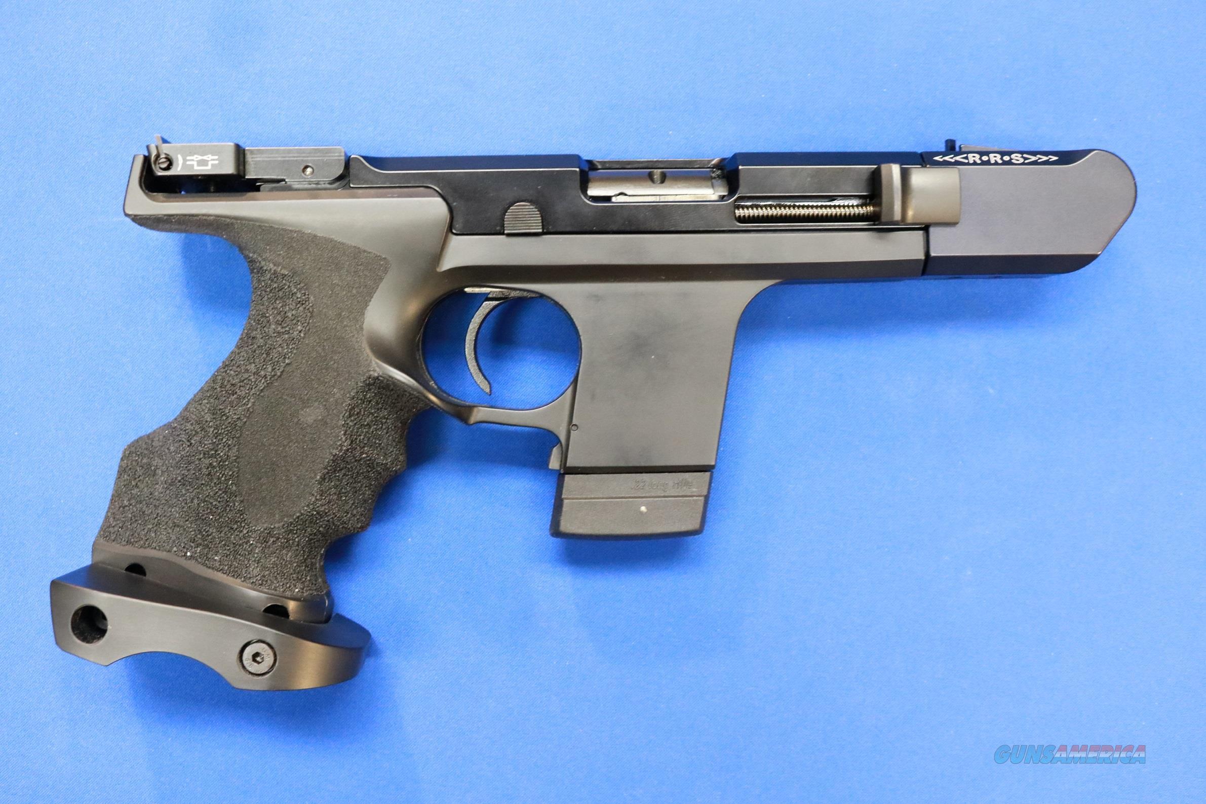 HAMMERLI SP20 RRS TARGET PISTOL .22 LR w/BOX & 2 MAGS  Guns > Pistols > Hammerli Pistols