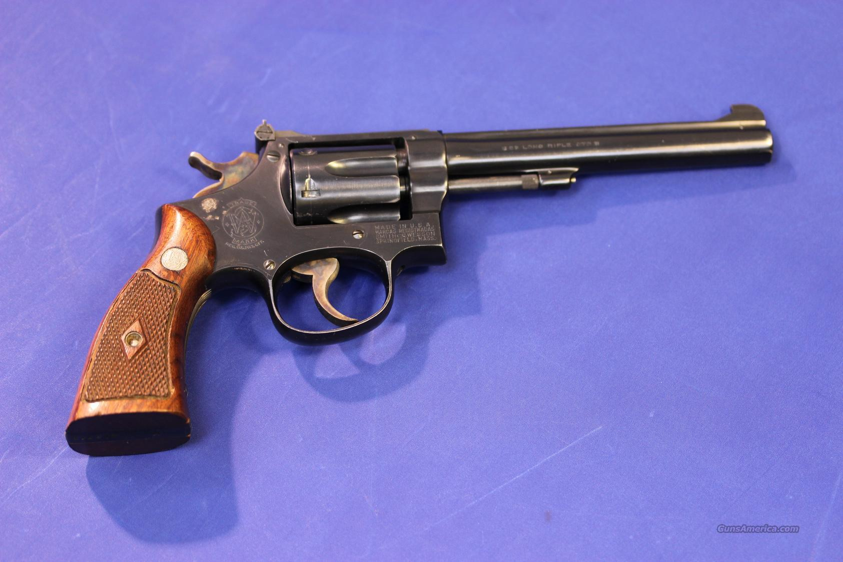 SMITH & WESSON PRE-17 K22 MASTERPIECE .22 LR  Guns > Pistols > Smith & Wesson Revolvers > Full Frame Revolver