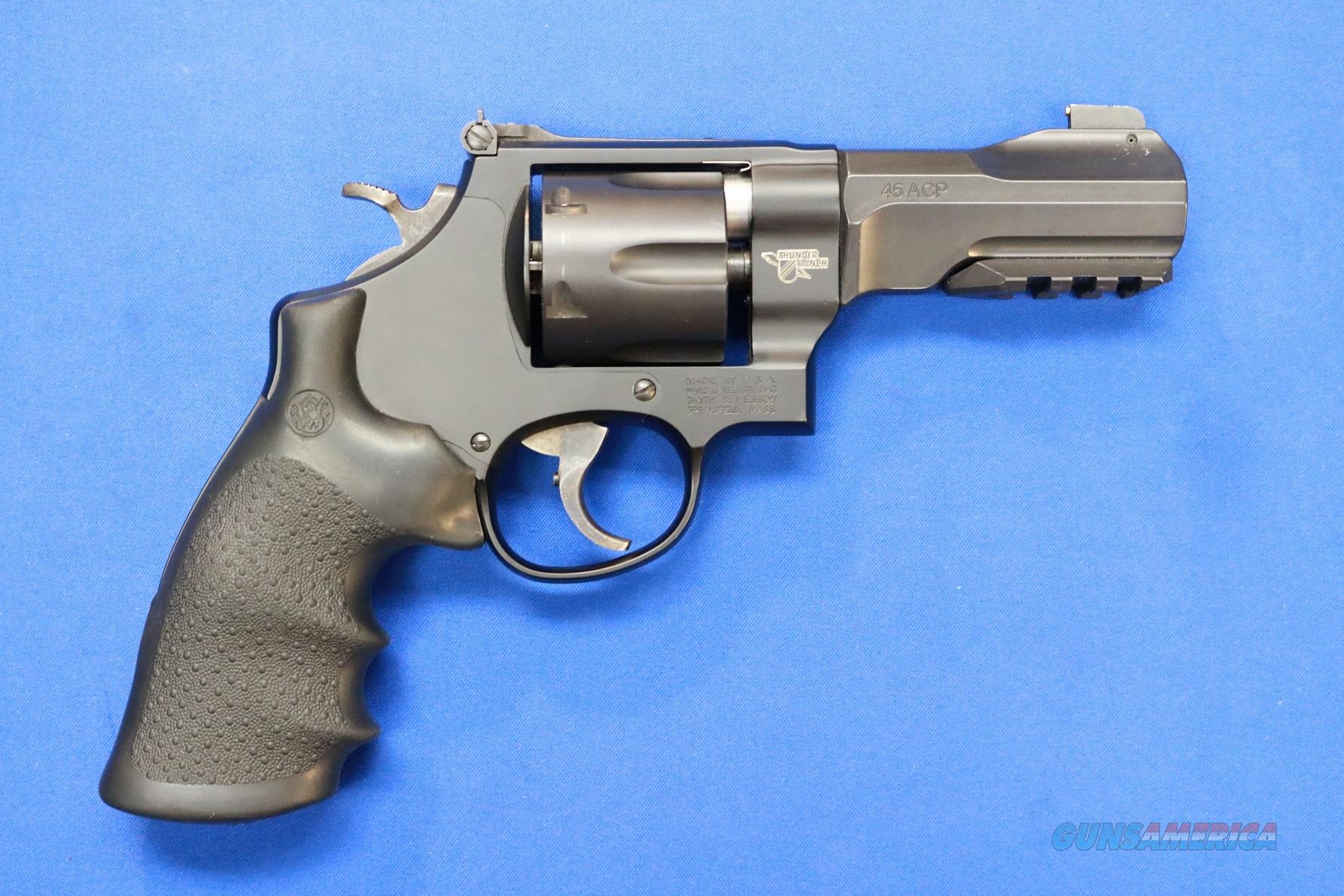 SMITH & WESSON 325 THUNDER RANCH PC .45 ACP   Guns > Pistols > Smith & Wesson Revolvers > Full Frame Revolver