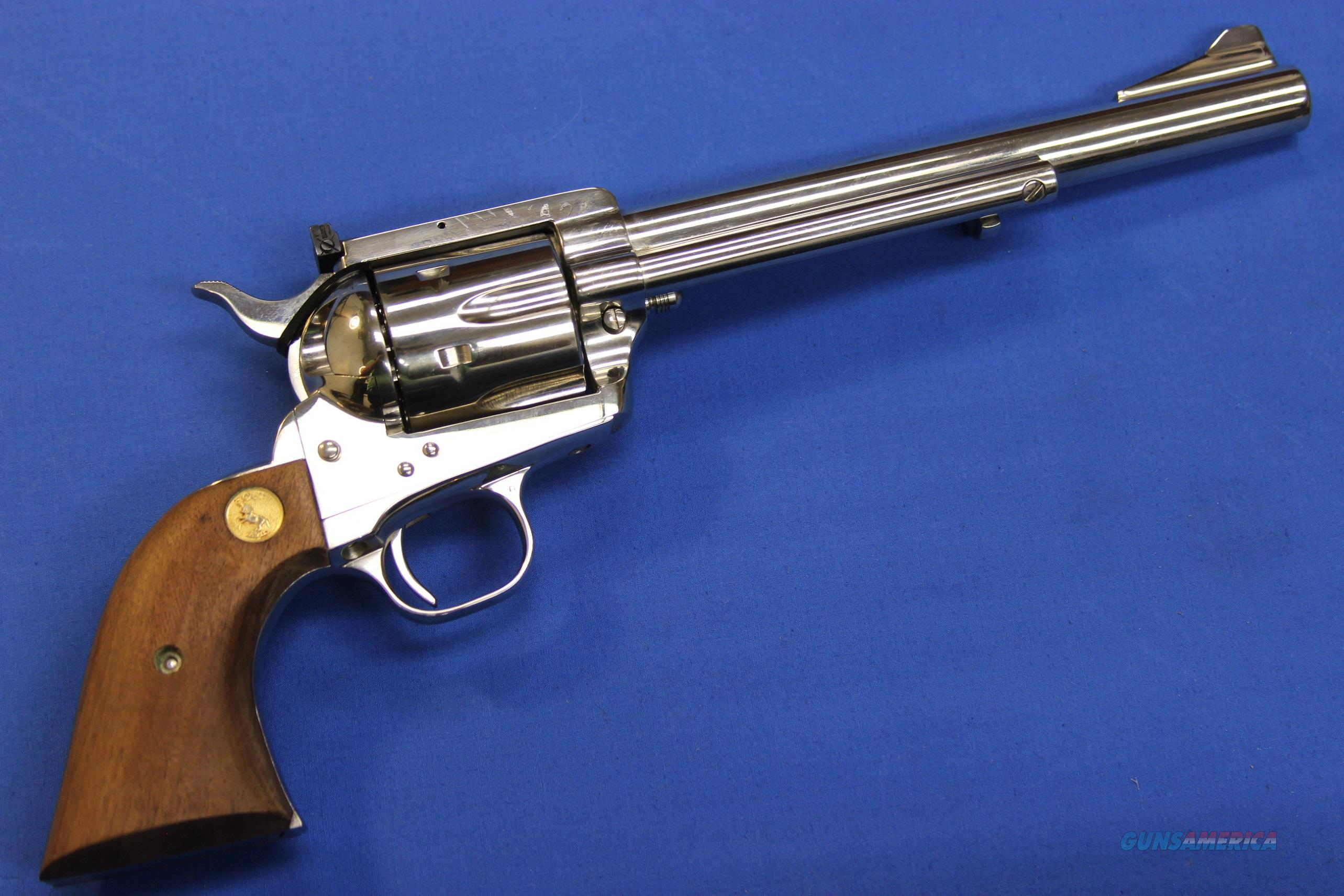 "COLT SAA NEW FRONTIER .357 MAG NICKEL 7.5"" - AS NIB!  Guns > Pistols > Colt Single Action Revolvers - 3rd Gen."