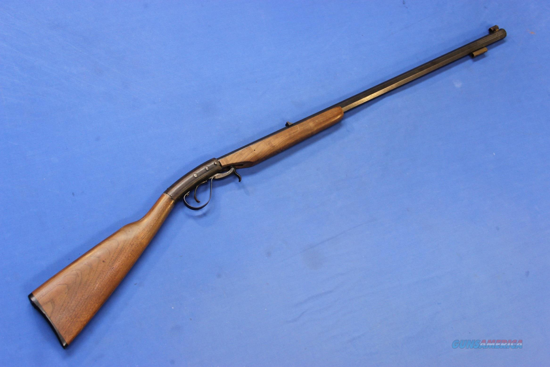 NUMRICH HOPKINS & ALLEN OFF-HAND UNDERHAMMER .50 CAL  Non-Guns > Black Powder Muzzleloading