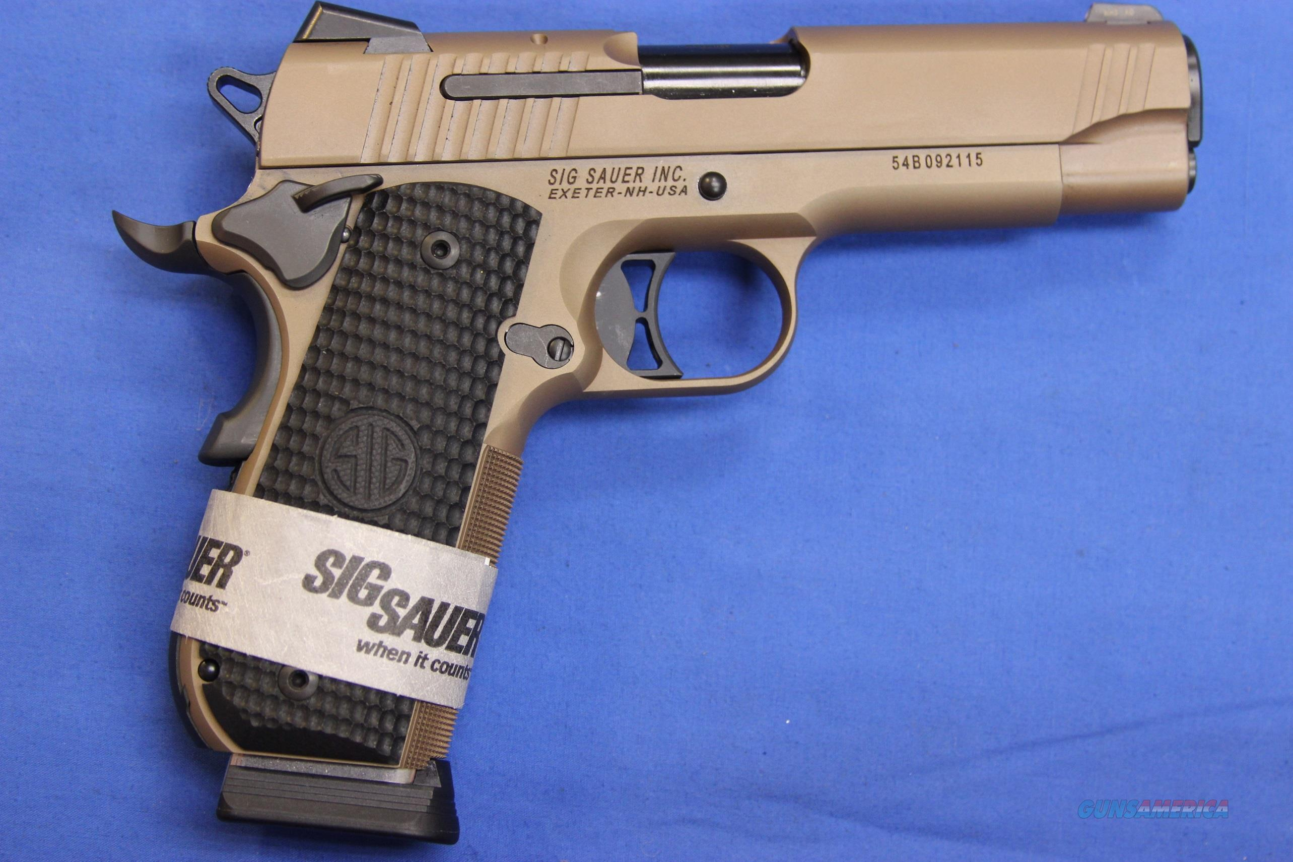 SIG 1911 FASTBACK CARRY EMPEROR SCORPION .45 ACP - NEW!  Guns > Pistols > Sig - Sauer/Sigarms Pistols > 1911