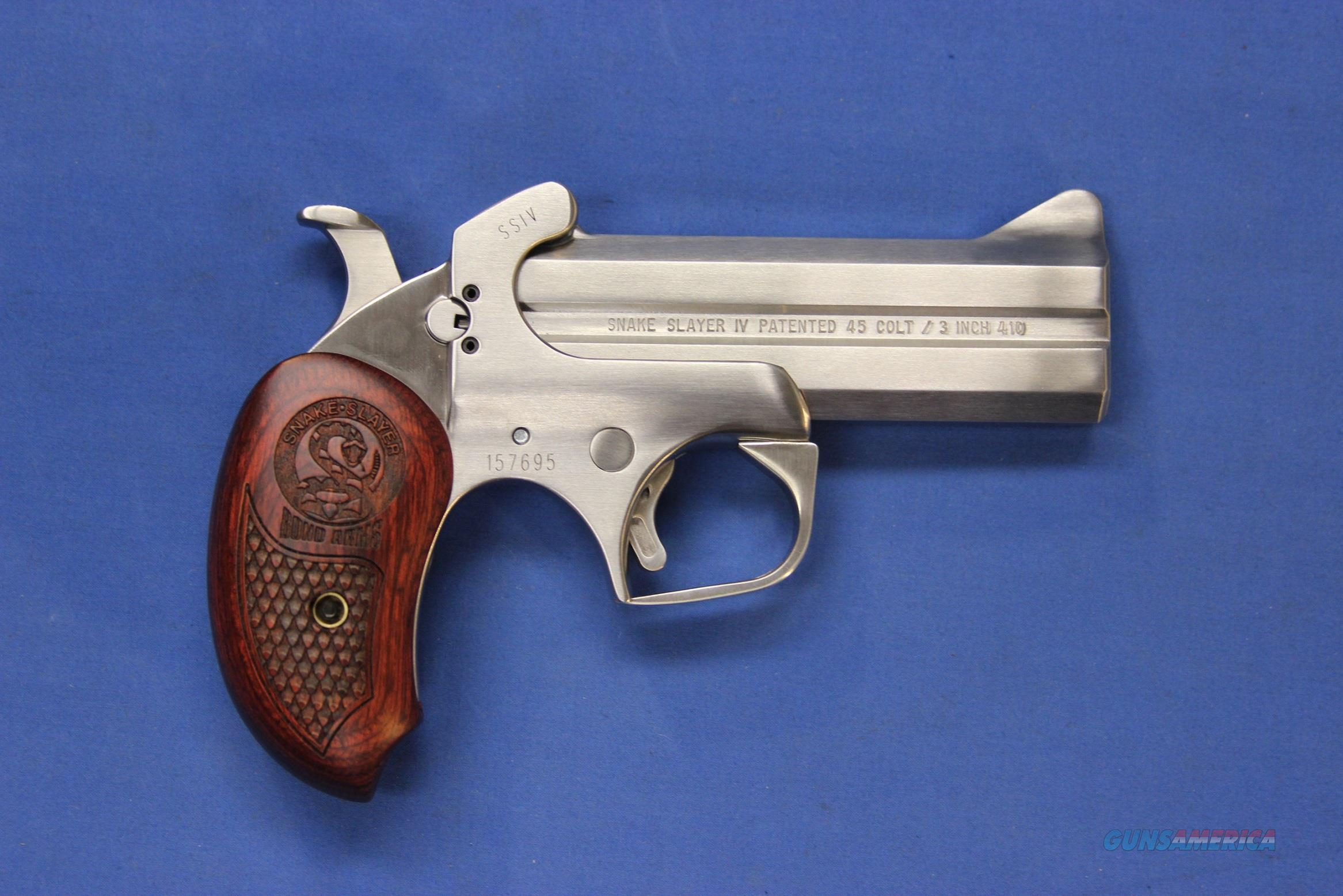BOND ARMS SNAKE SLAYER IV .45 COLT/.410 GA - NEW!  Guns > Pistols > Bond Derringers