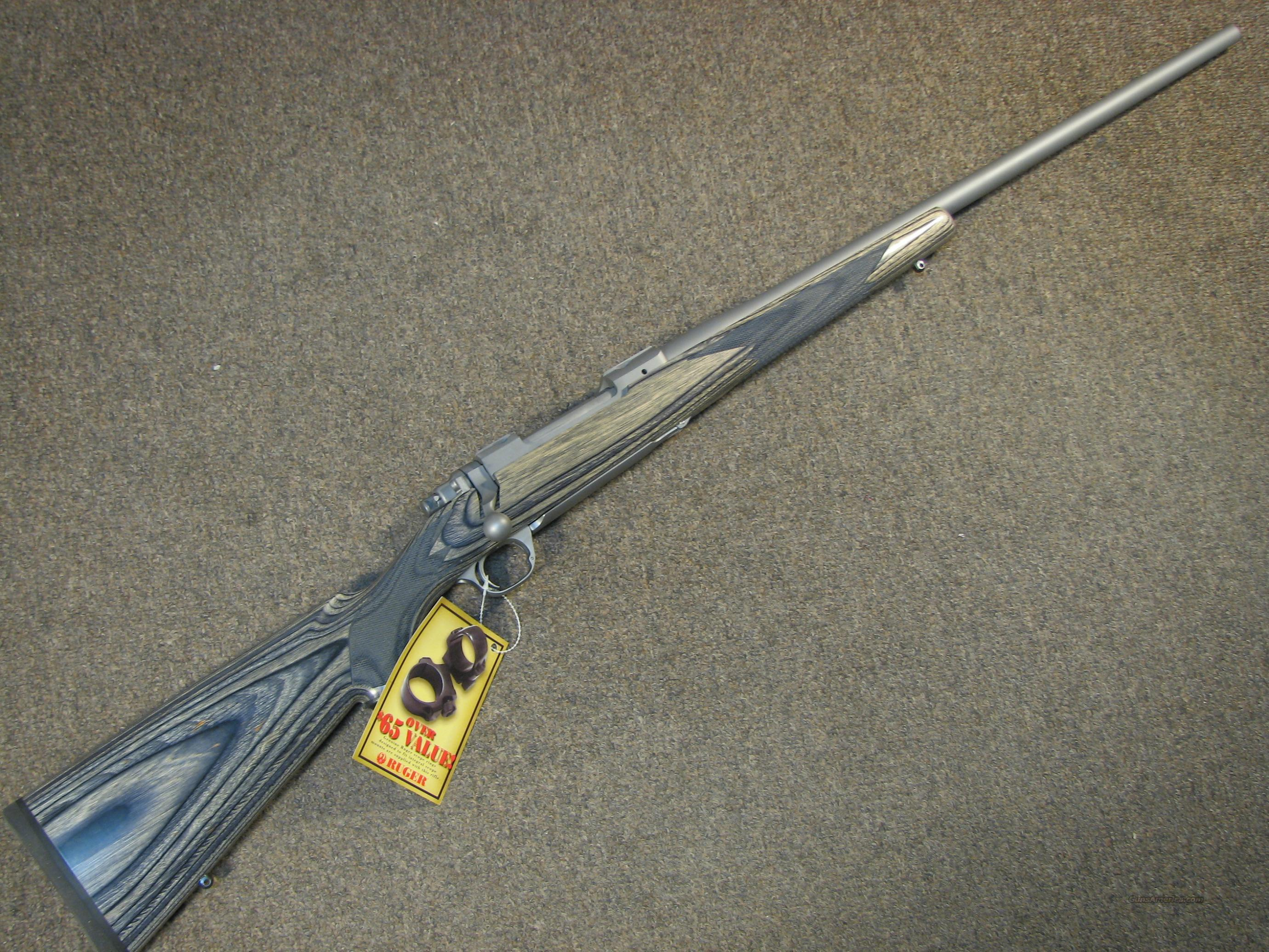 Ruger M77 Hawkeye Ss Laminate 300 Win Mag N For Sale