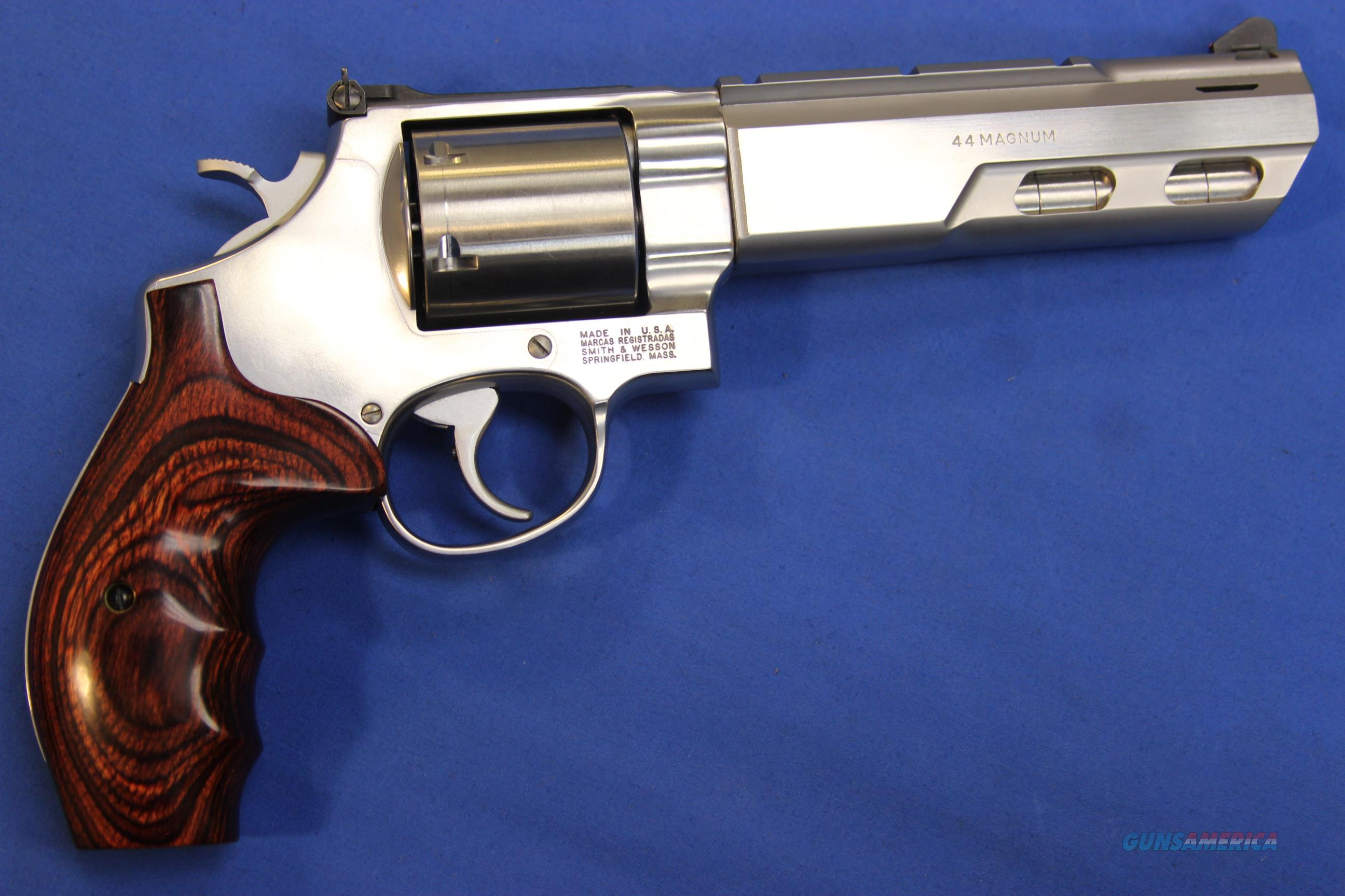 SMITH & WESSON 629-5 PERFORMANCE CENTER .44 MAG  Guns > Pistols > Smith & Wesson Revolvers > Performance Center