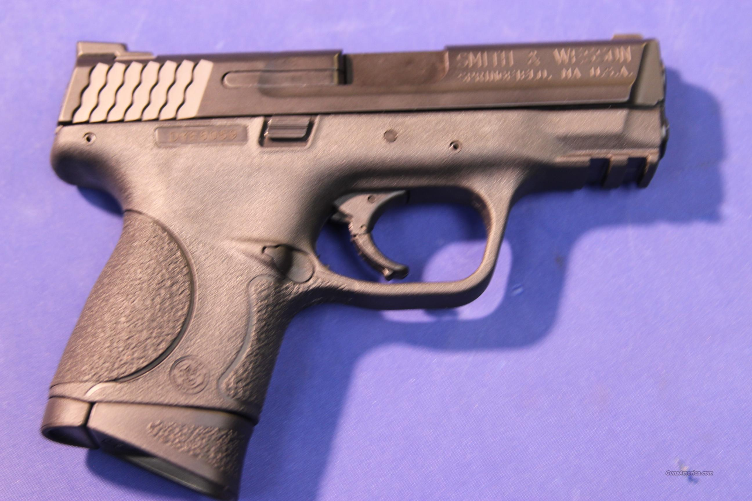 SMITH & WESSON M&P COMPACT 9MM – NEW!   Guns > Pistols > Smith & Wesson Pistols - Autos > Polymer Frame