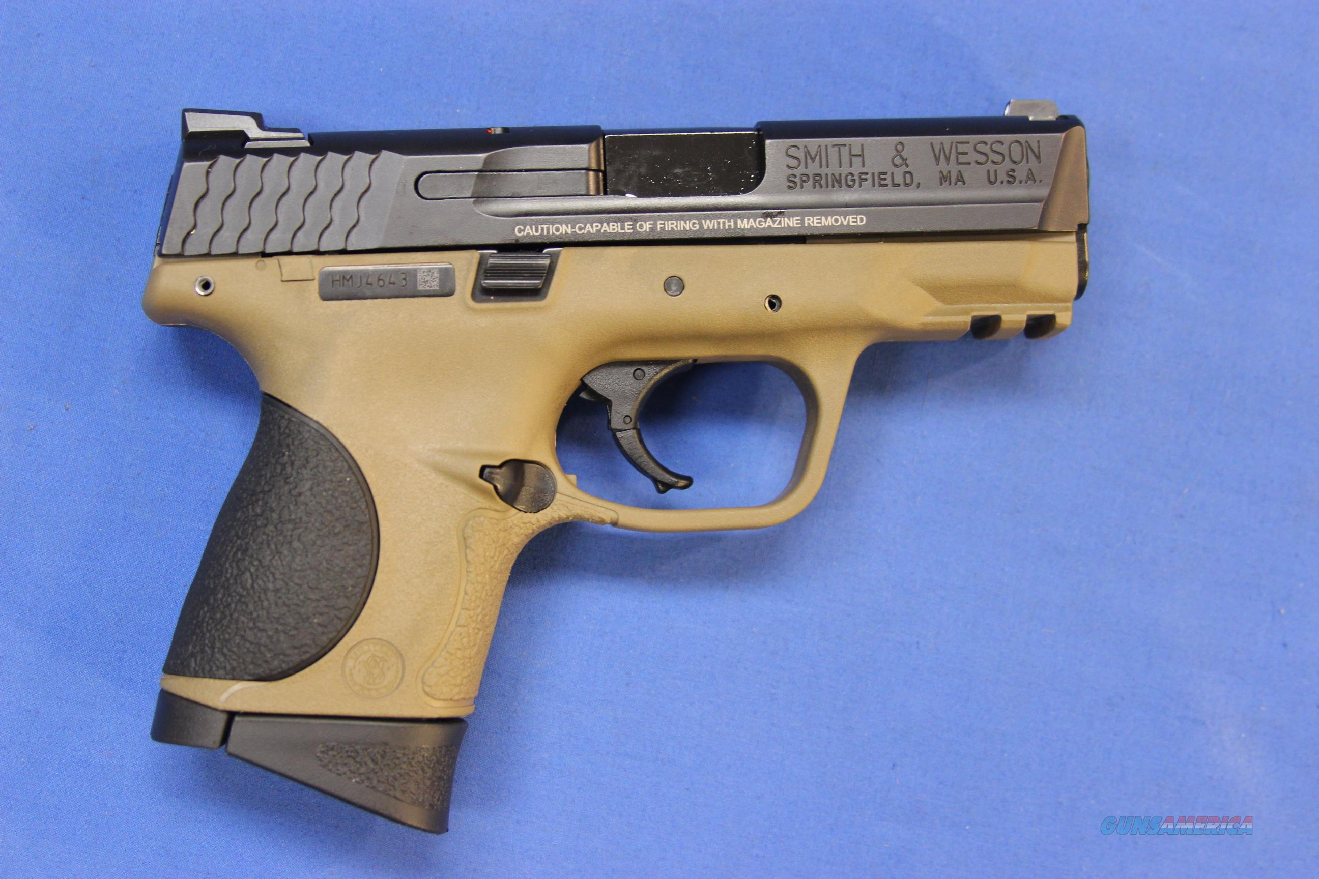SMITH & WESSON M&P9 COMPACT FDE 9mm - NEW!  Guns > Pistols > Smith & Wesson Pistols - Autos > Polymer Frame