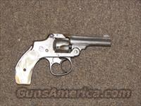 SMITH & WESSON 32 SAFETY HAMMERLESS 2nd MODEL w/ PEARL GRIPS  Guns > Pistols > Smith & Wesson Revolvers > Pre-1945