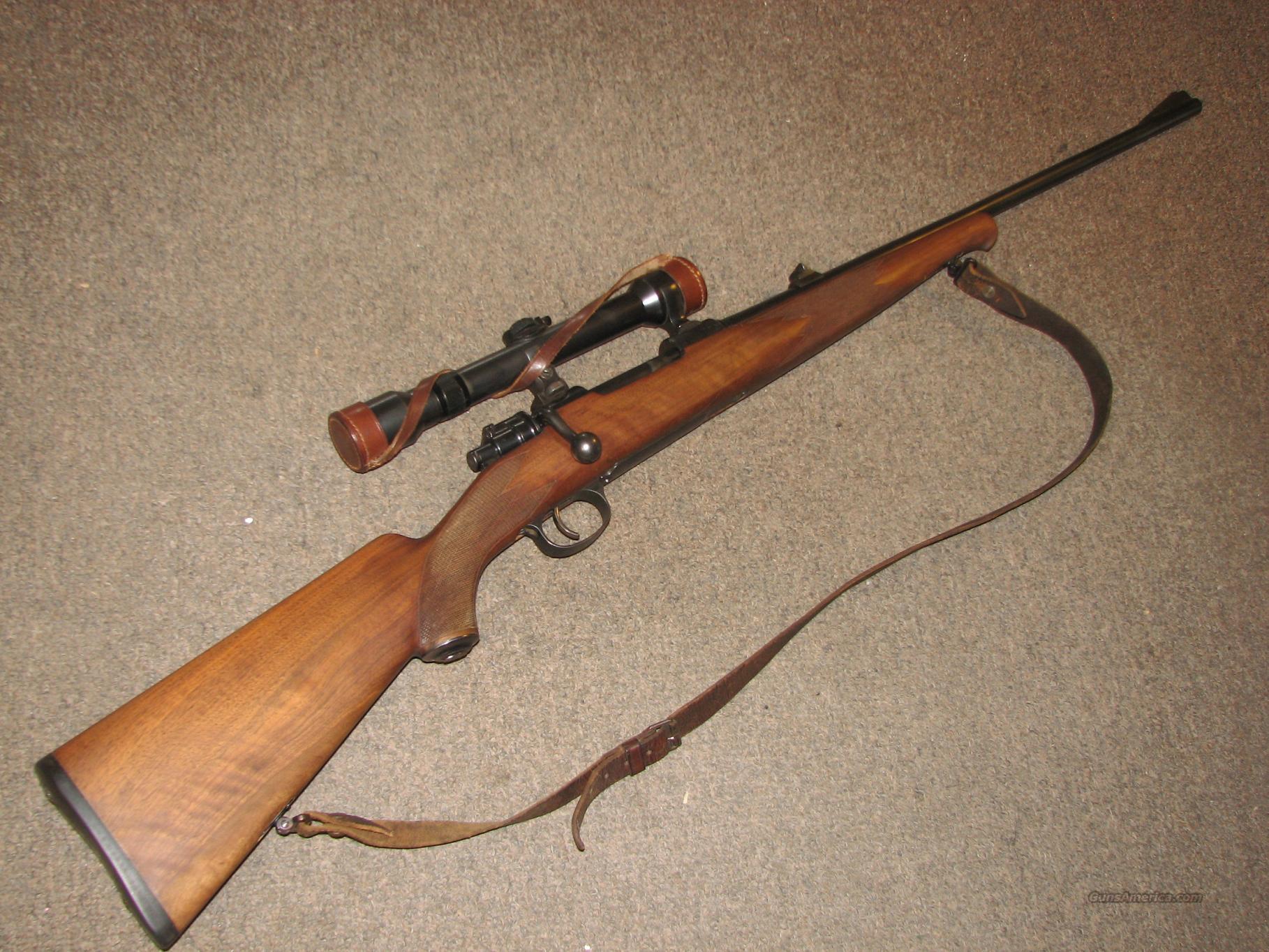 MAUSER 98 SPORTING RIFLE 8x57 w/ HENSOLDT SCOPE  Guns > Rifles > Mauser Rifles > German